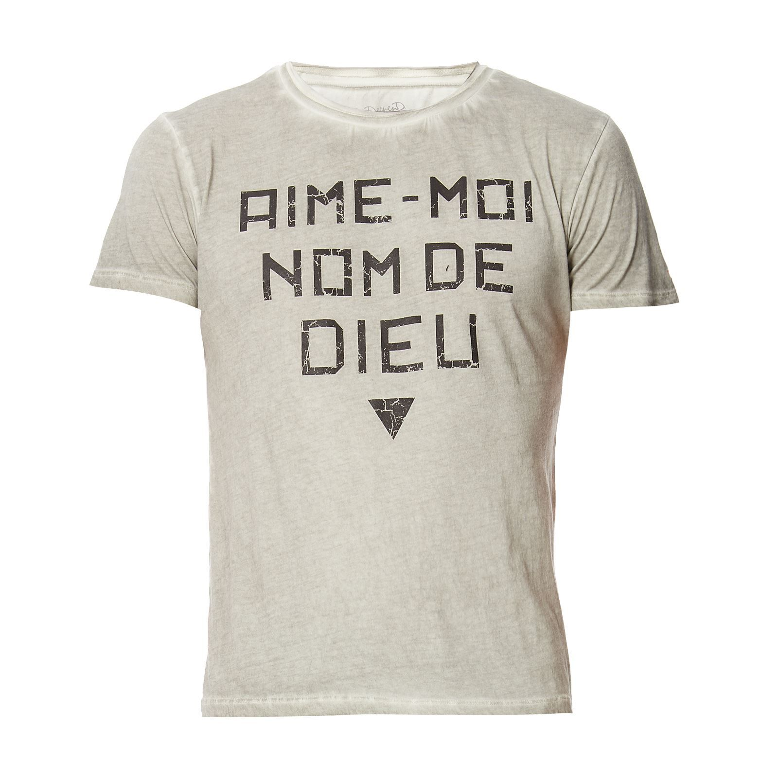 Deepend                        T-SHIRT MANCHES COURTES - PERLE
