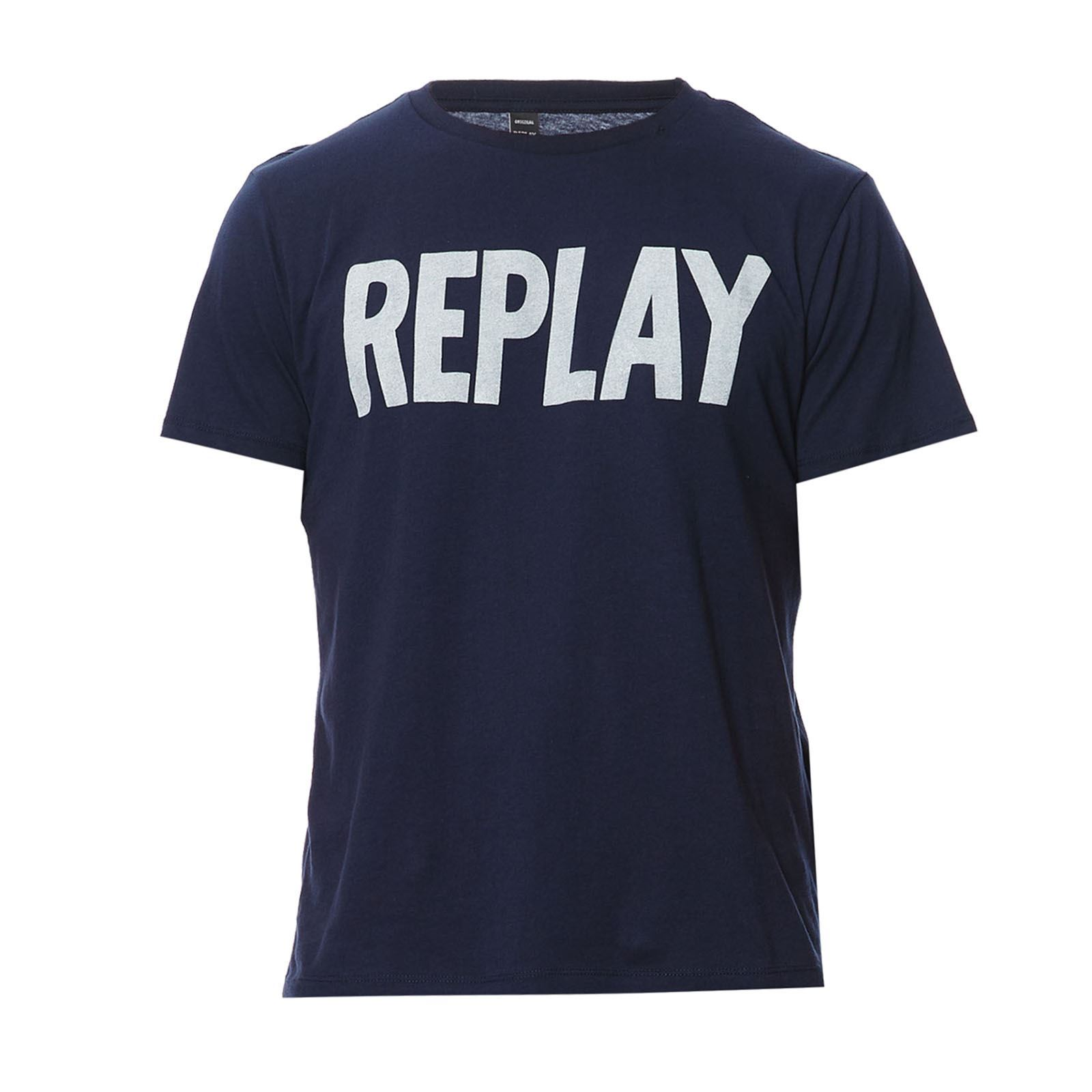 Replay T-Shirt - T-shirt - bleu