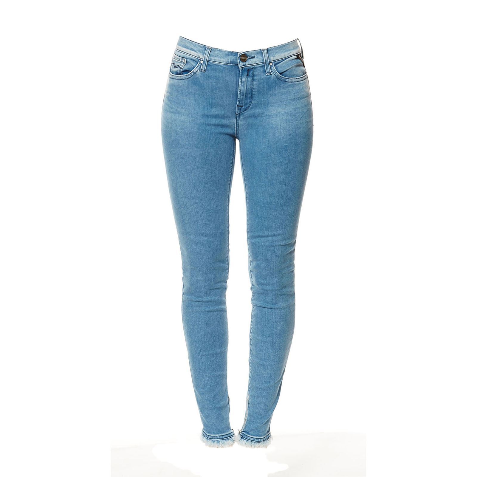 Replay Joi - Jean skinny - denim bleu