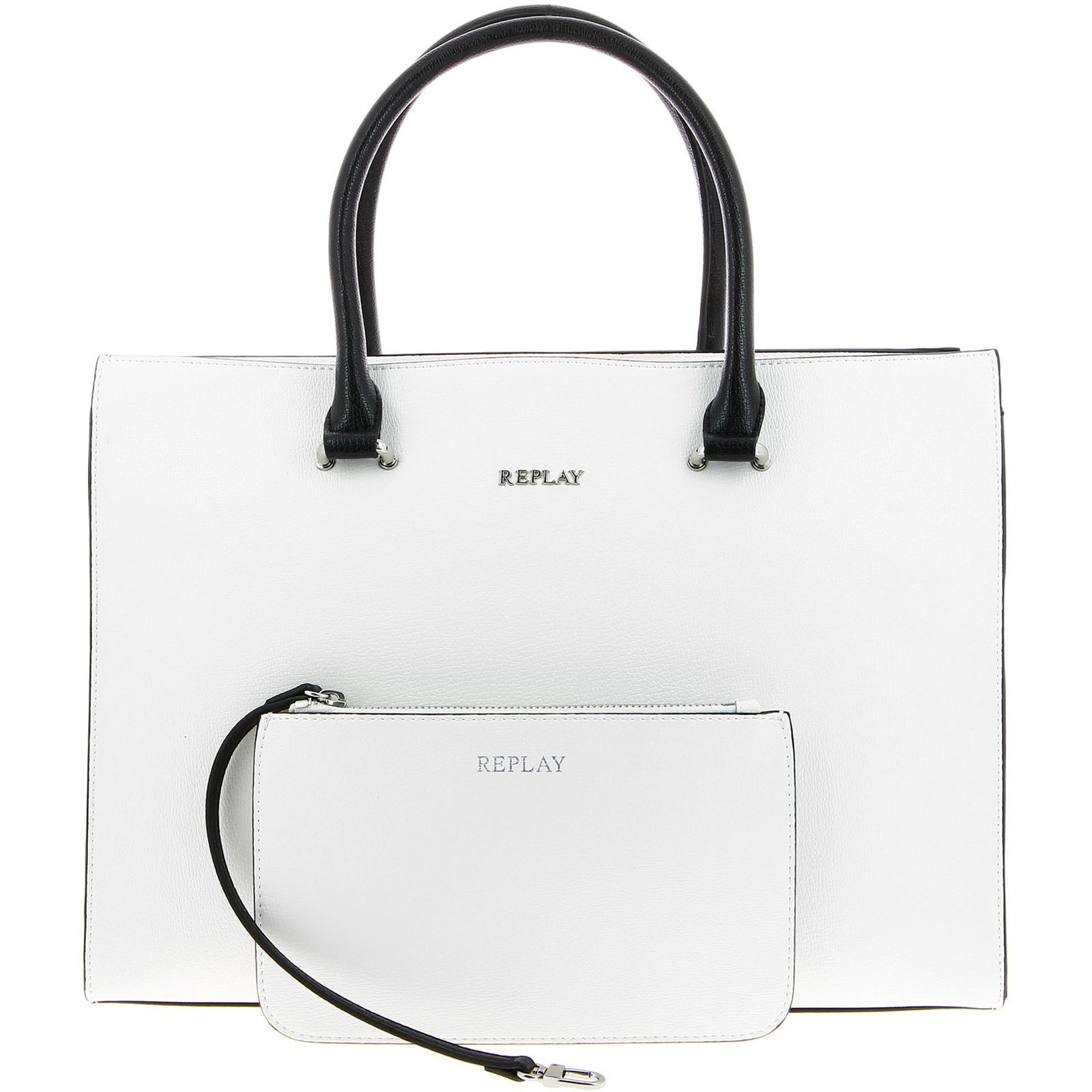 Replay Sac cabas - blanc