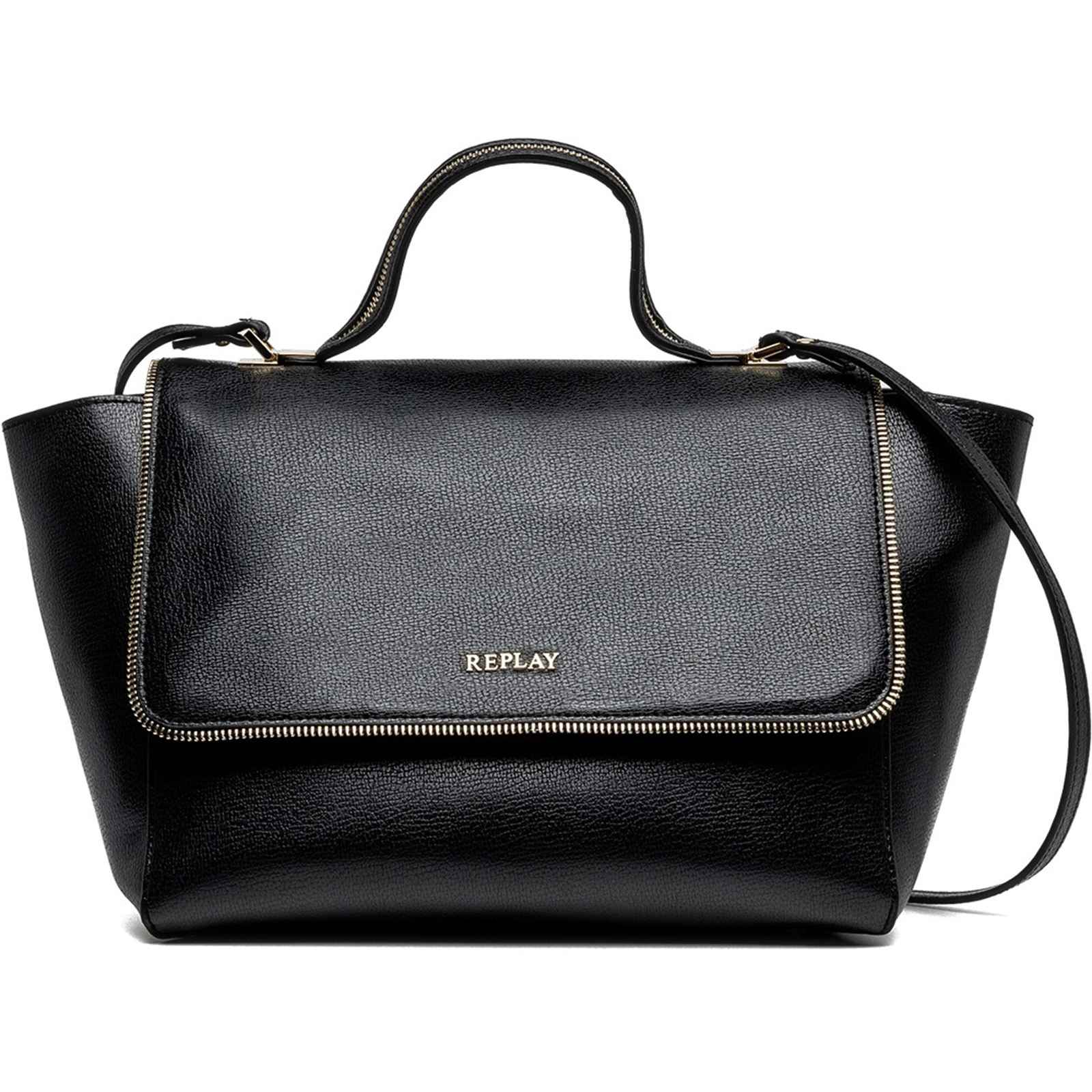 Replay Zip around - Sac à main - noir