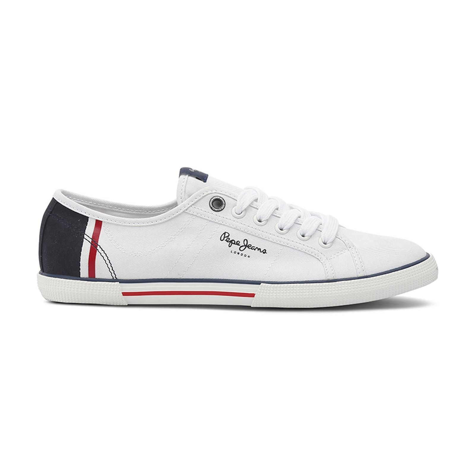 Pepe Jeans Footwear ABERMAN - Baskets Mode - blanc