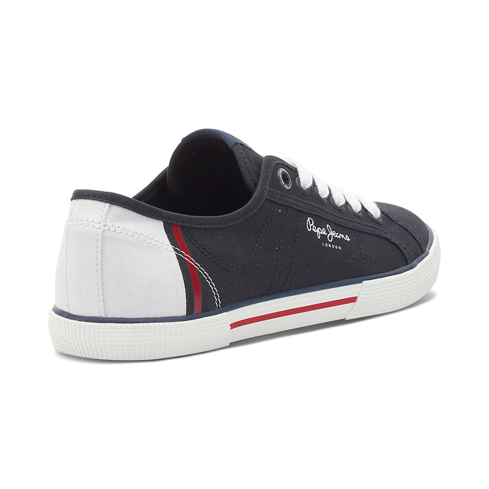 Pepe jeans Chaussures Baskets Aberman bleues Pepe jeans 4irW7MT