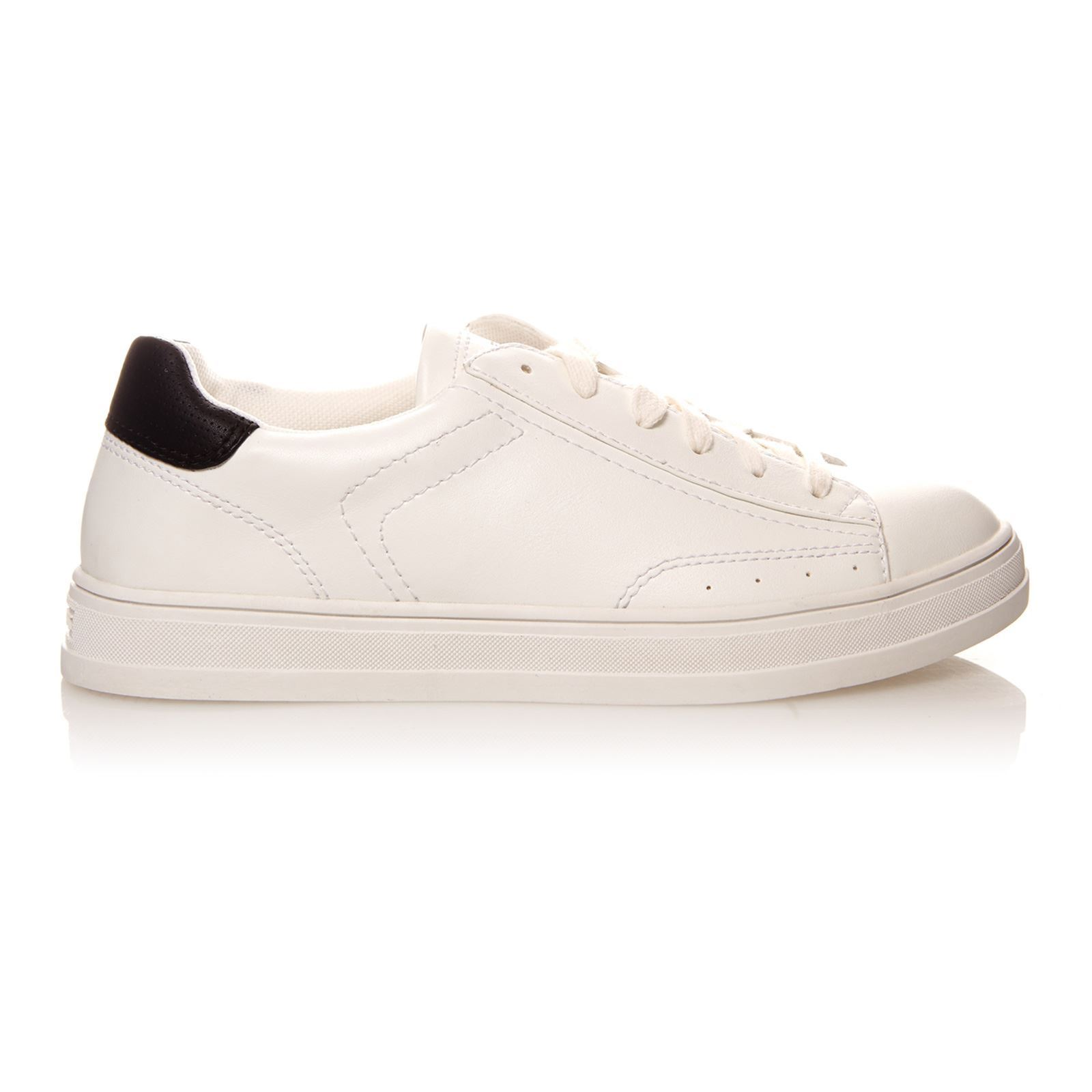ESPRIT Sidney Lace Up Baskets blanc