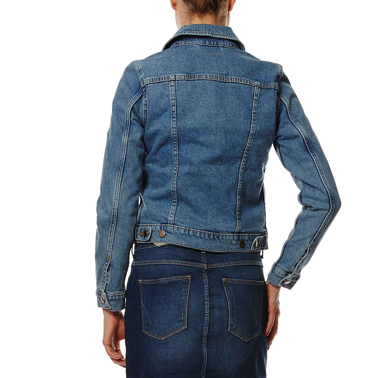 levi 39 s original trucker veste en jean denim bleu brandalley. Black Bedroom Furniture Sets. Home Design Ideas