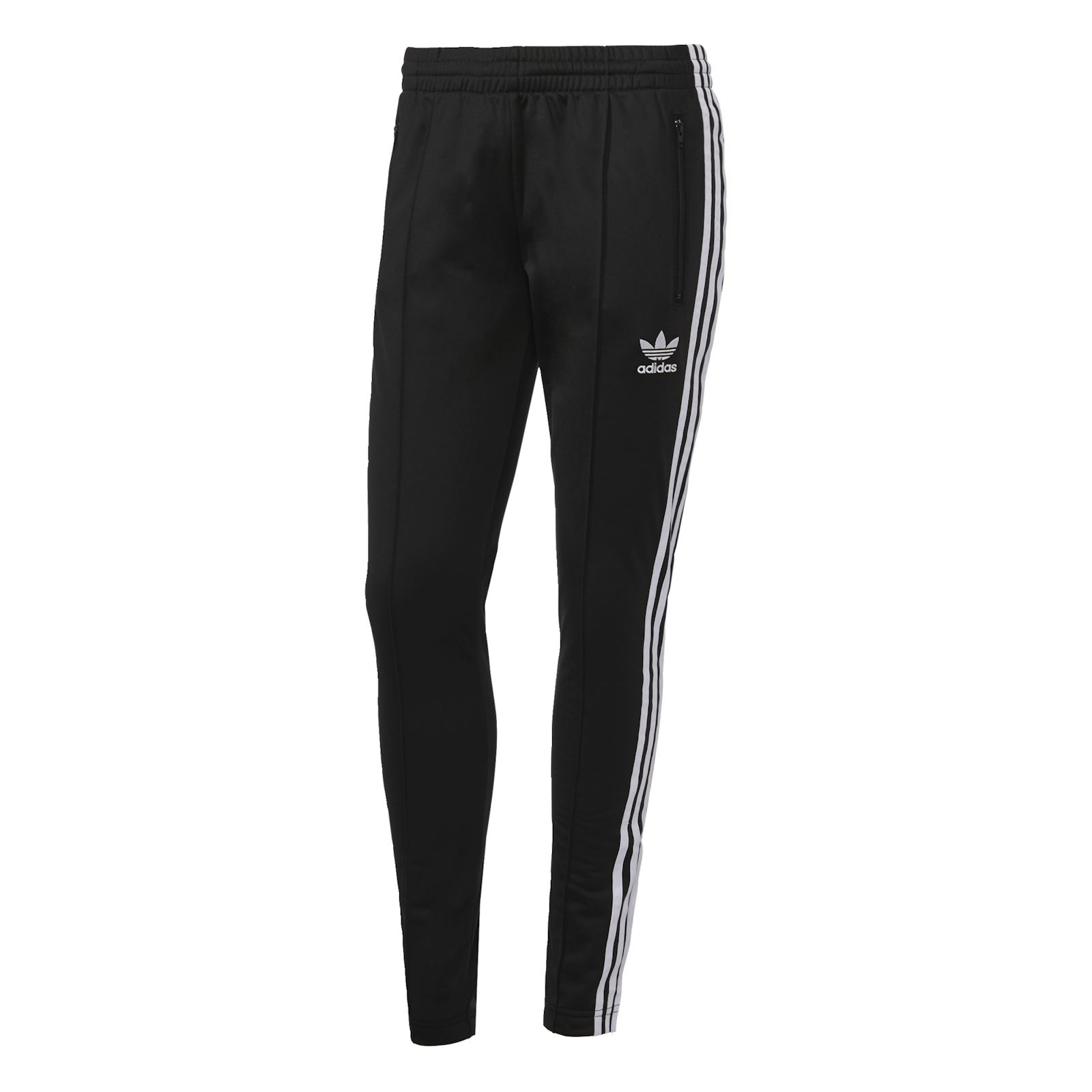 Adidas originals pantalon jogging noir brandalley for Pantalon carreaux noir et blanc