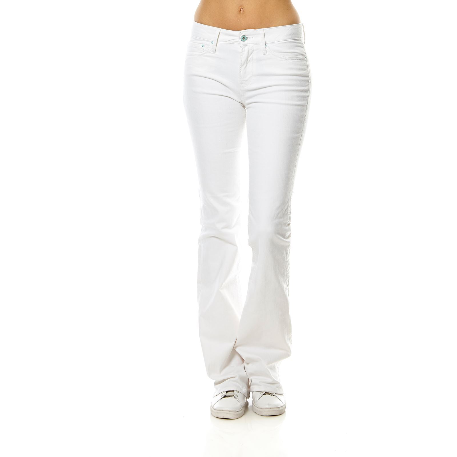 Pepe Jeans London Mayfair - Jean flare - blanc