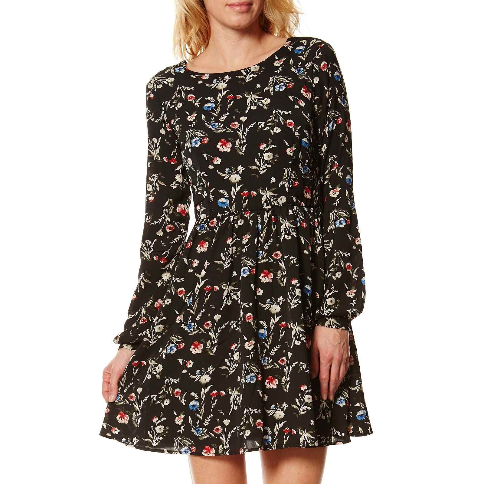 Pepe Jeans London Mabel Kleid Schwarz Brandalley