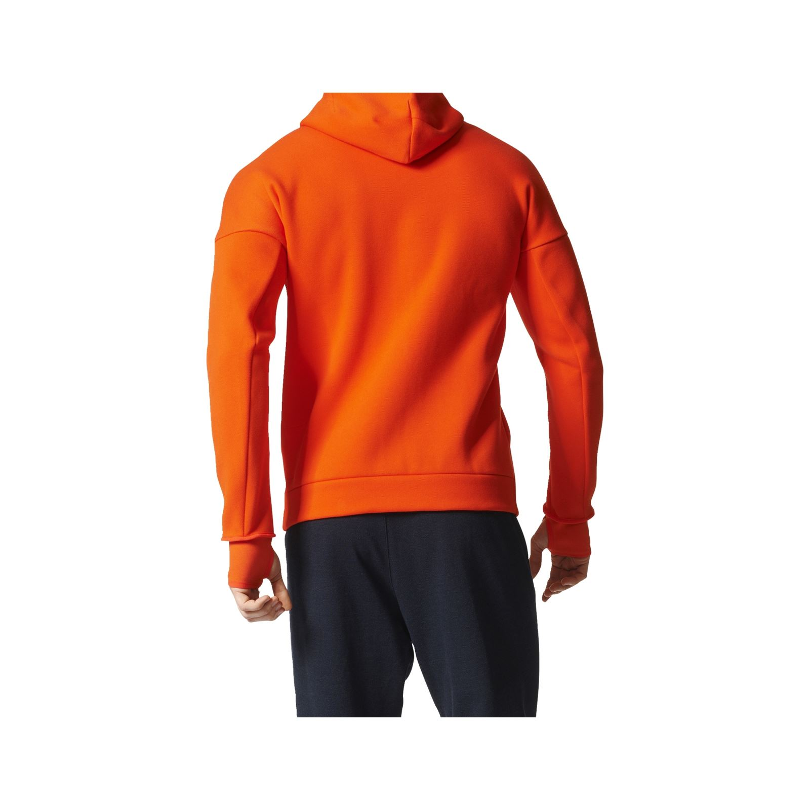adidas performance sweat capuche orange brandalley. Black Bedroom Furniture Sets. Home Design Ideas
