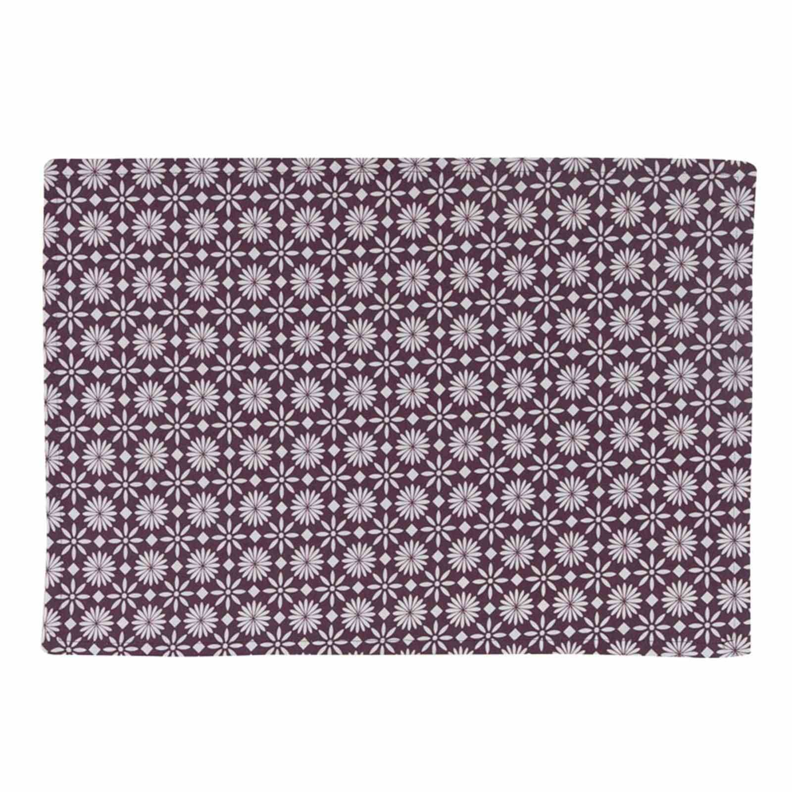 Alexandre turpault flore set de table violet brandalley for Set de table violet