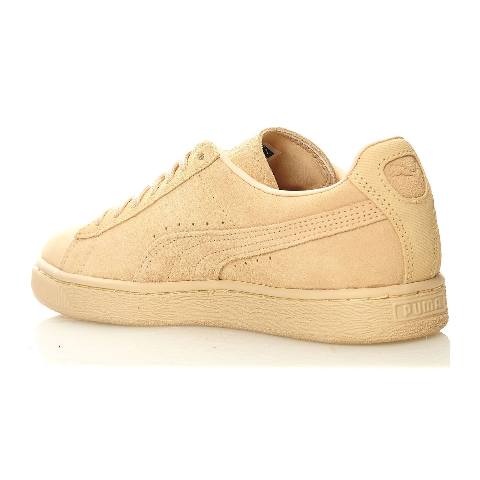 puma suede classic baskets en cuir su d beige. Black Bedroom Furniture Sets. Home Design Ideas