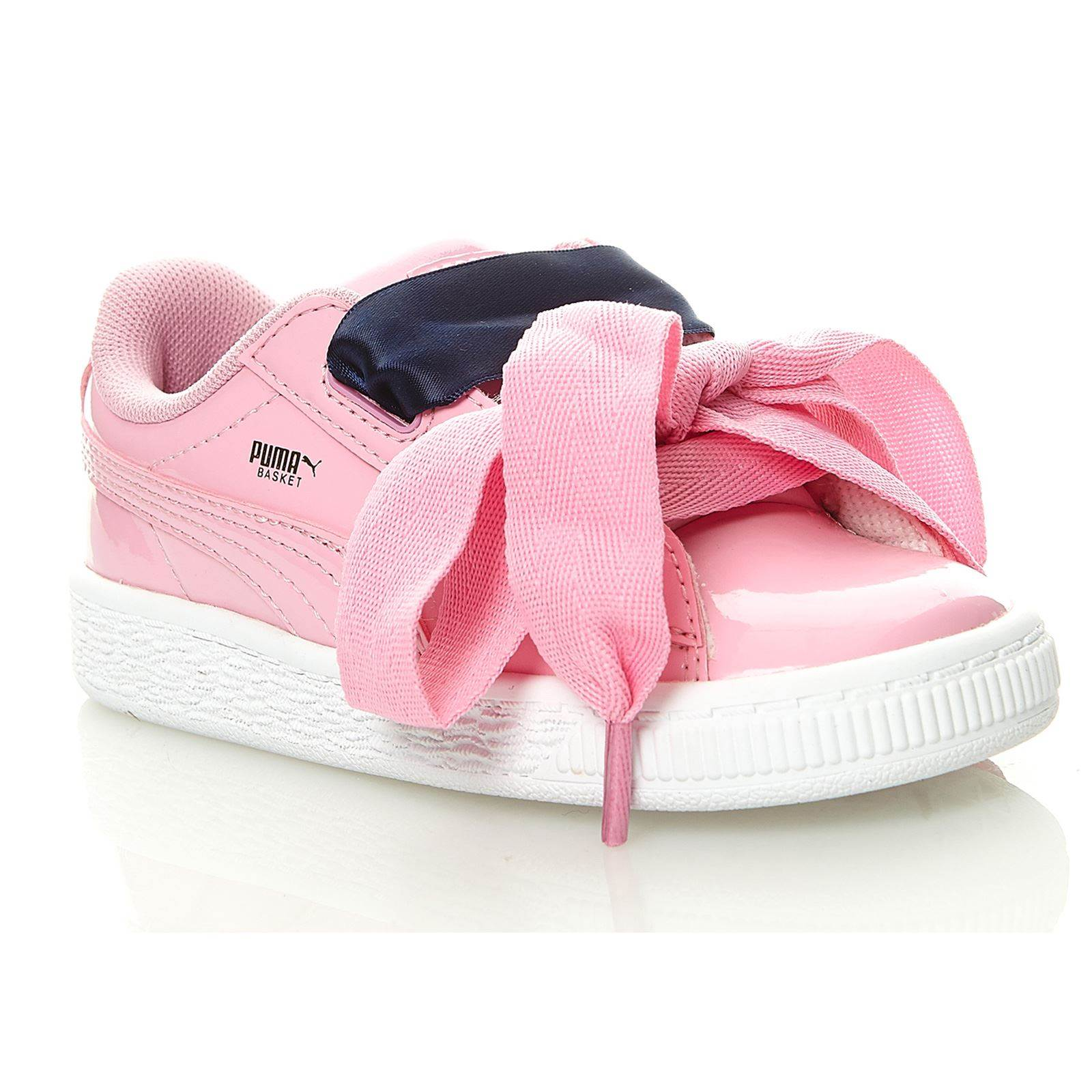 puma rose noeud papillon