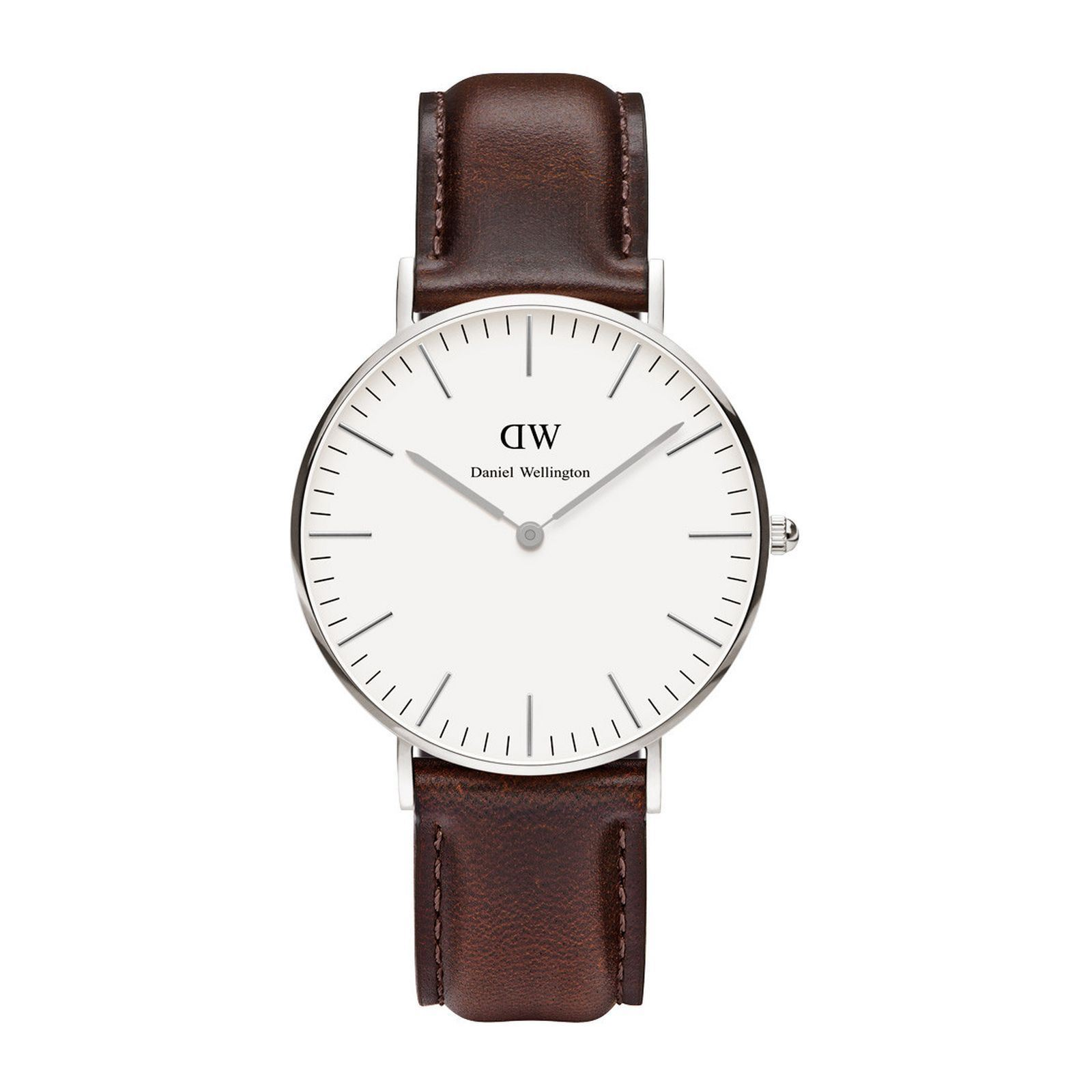 daniel wellington uhr mit lederarmband braun brandalley. Black Bedroom Furniture Sets. Home Design Ideas