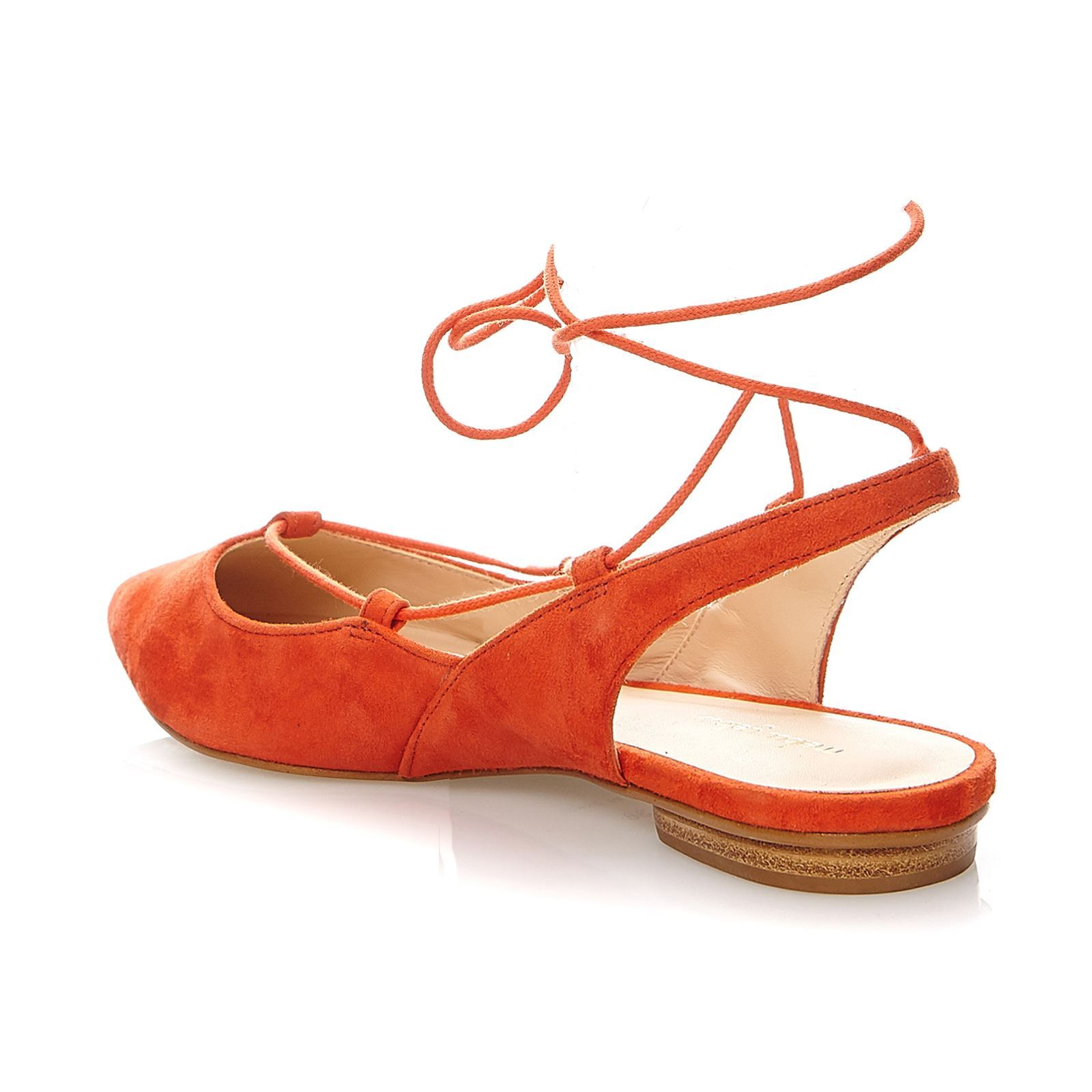 Mellow En Suédé Yellow Orange Brunella Ballerines Cuir rFrwtq