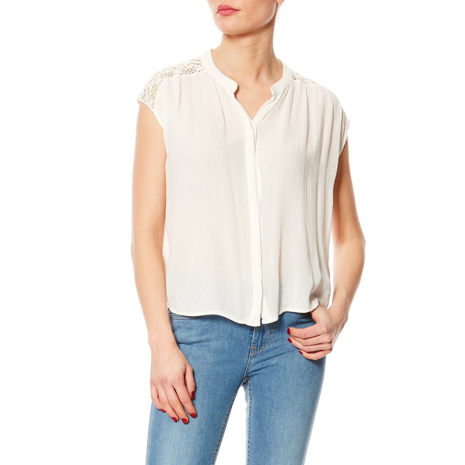 Pepe Jeans London glory - Top - blanc