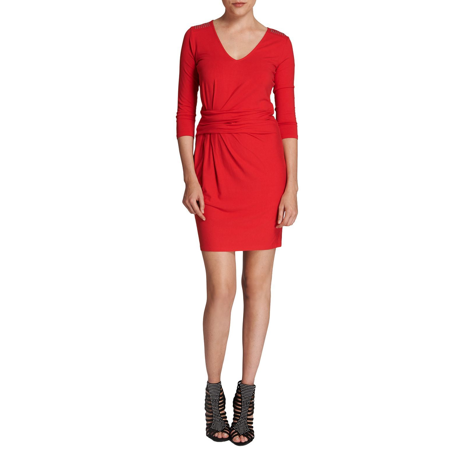 Robe de soiree rouge morgan