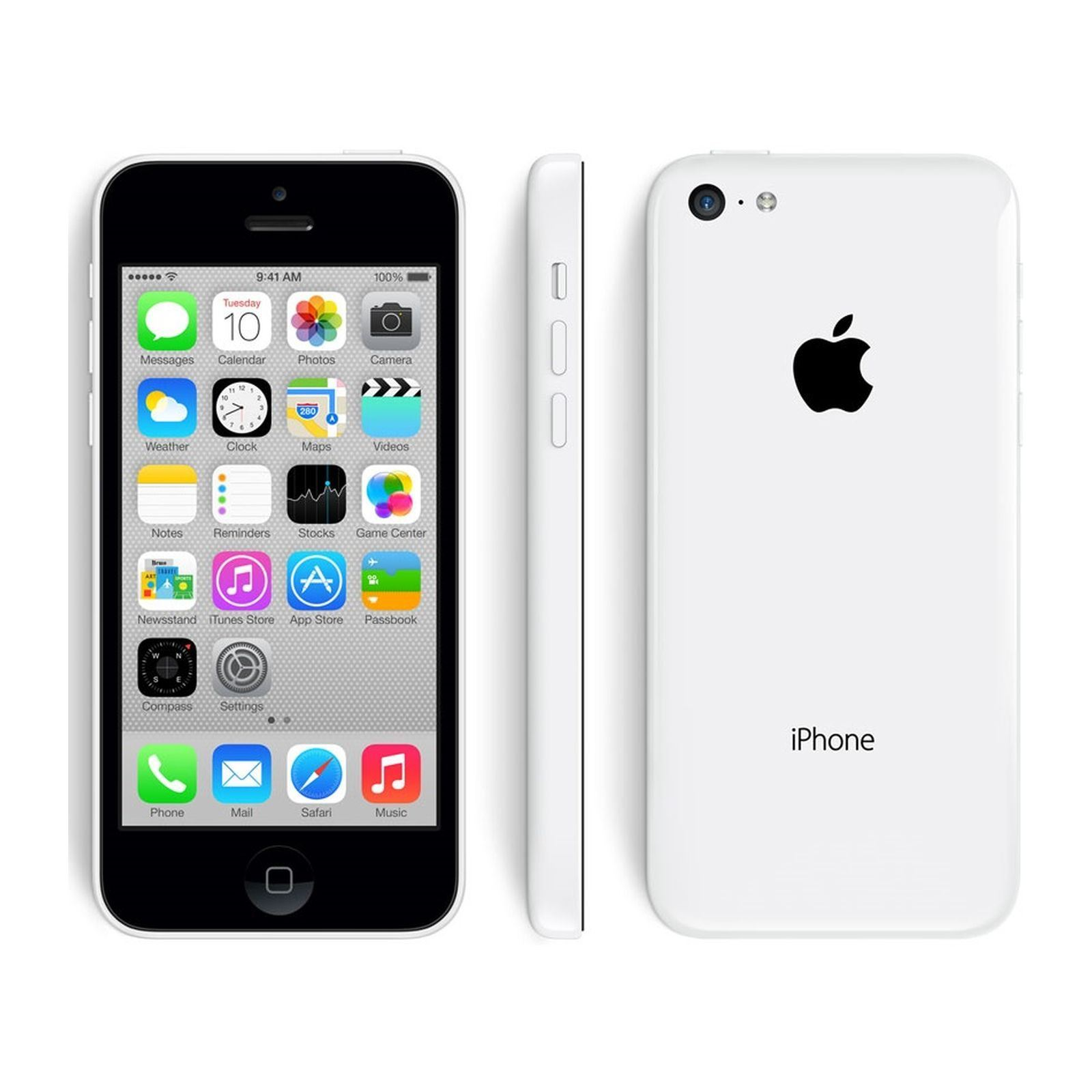 apple iphone 5c reconditionn 8 gb blanc brandalley. Black Bedroom Furniture Sets. Home Design Ideas