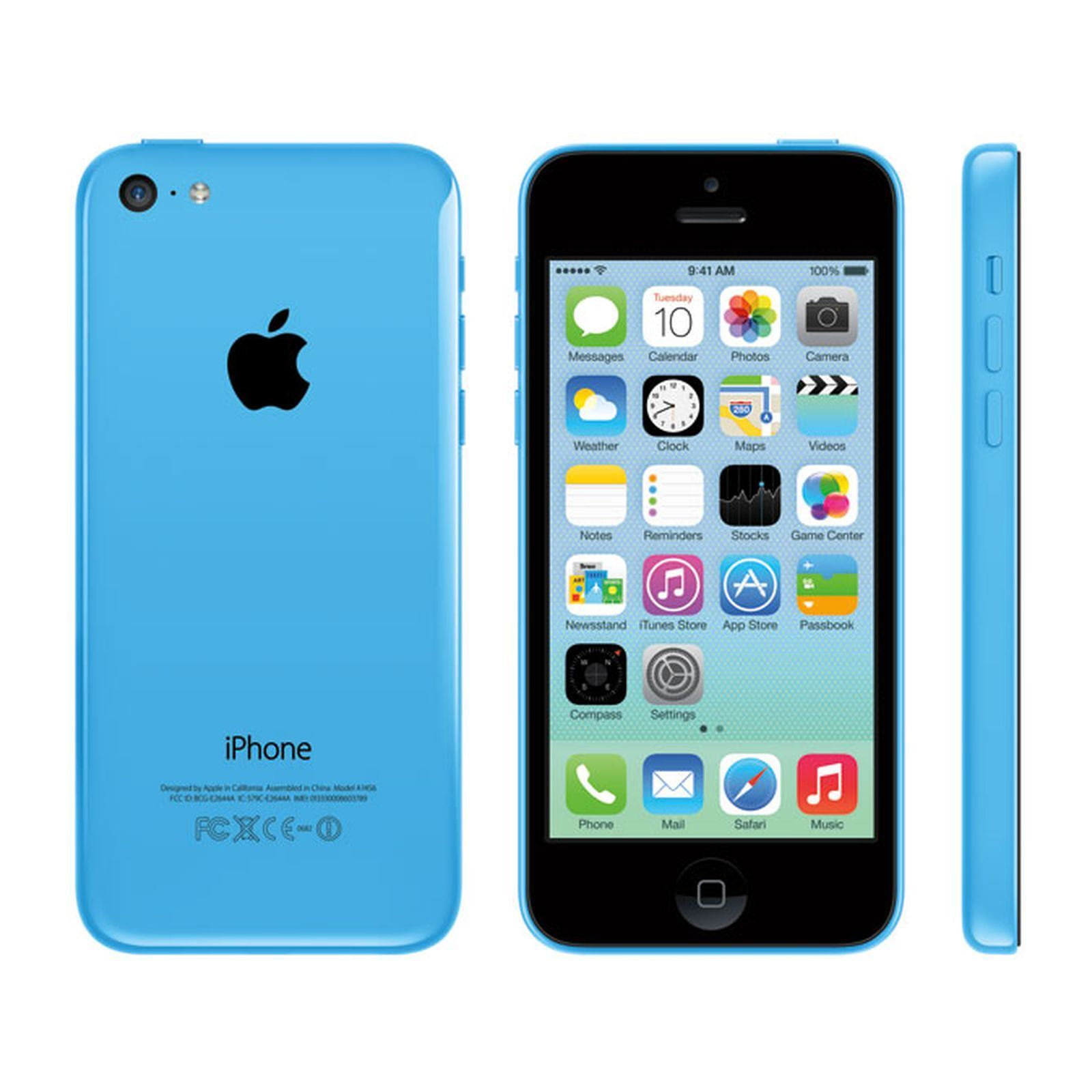 apple iphone 5c reconditionn 16 gb bleu clair brandalley. Black Bedroom Furniture Sets. Home Design Ideas