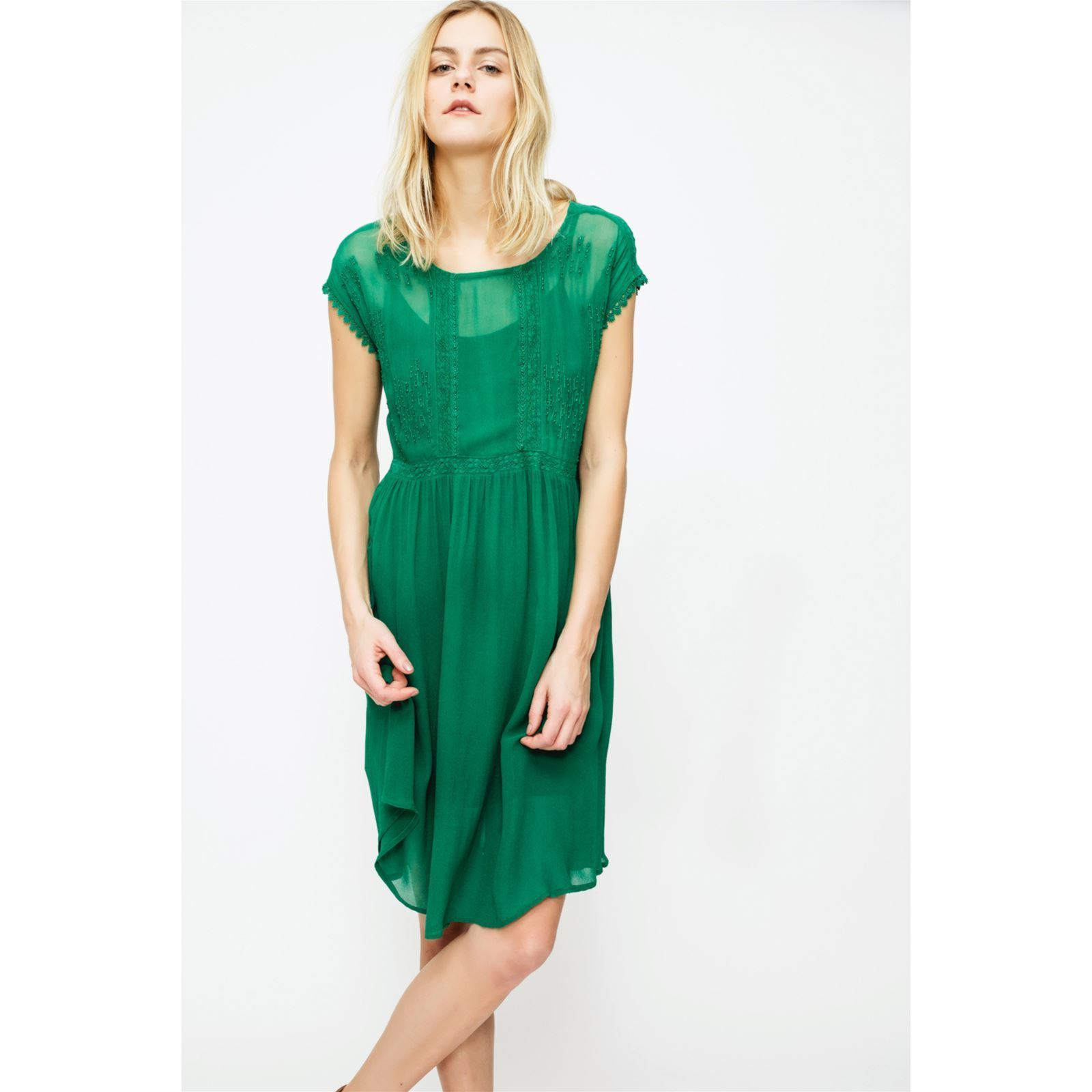 Sin quanone angele robe vert brandalley for Robes vertes pour les mariages