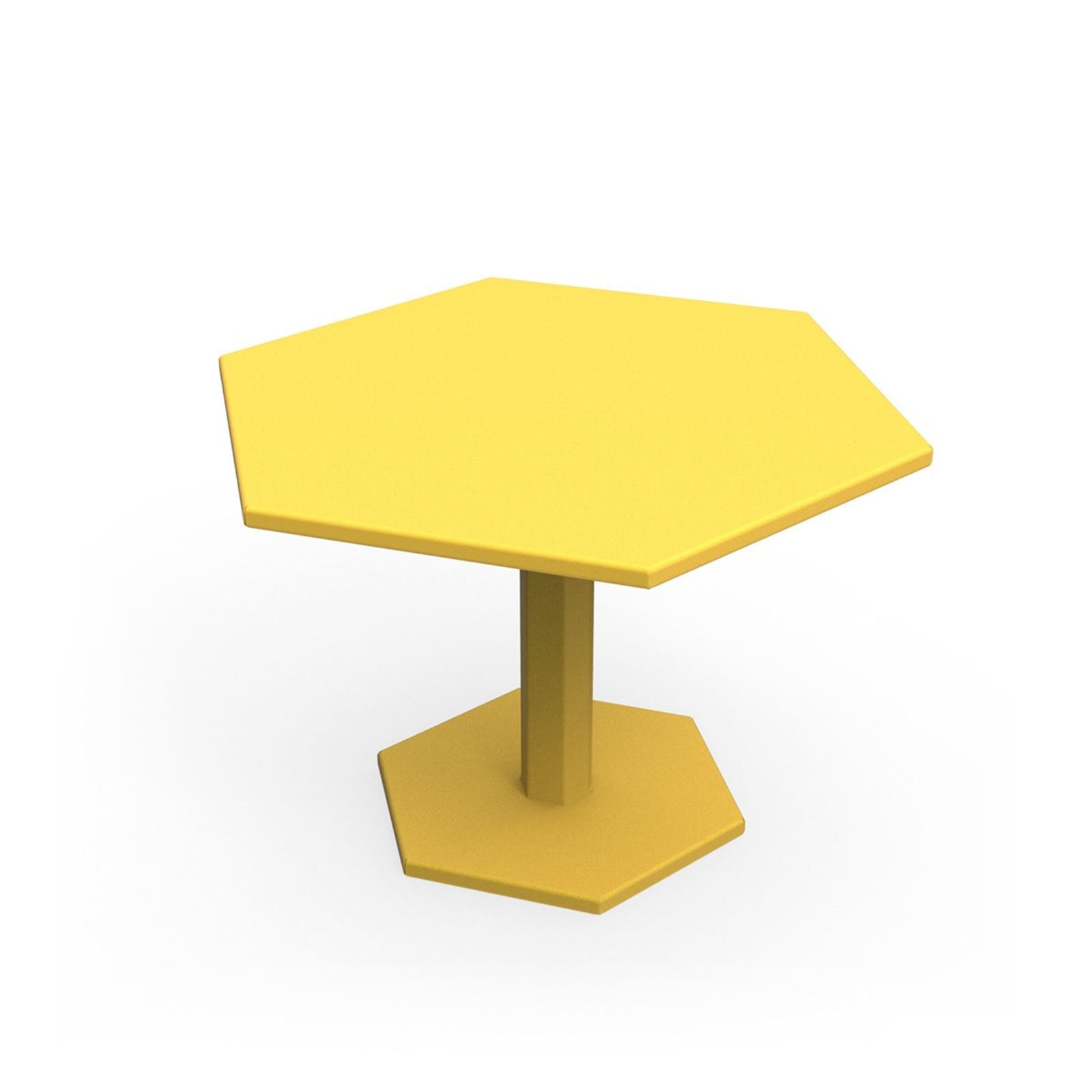 Zhed Hexagone - Table basse - jaune  Brandalley