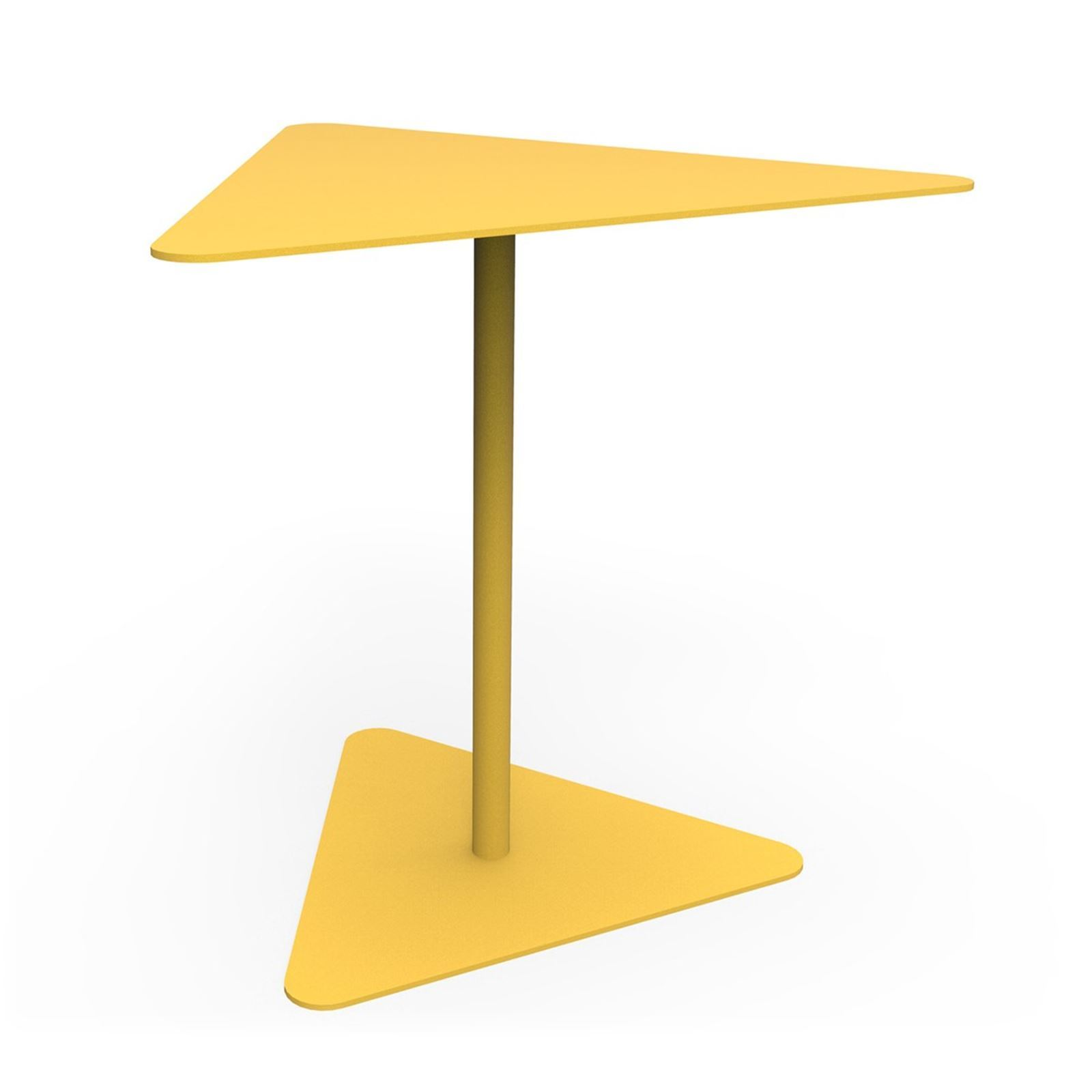 Zhed Metropolitain Table D Appoint Jaune Brandalley