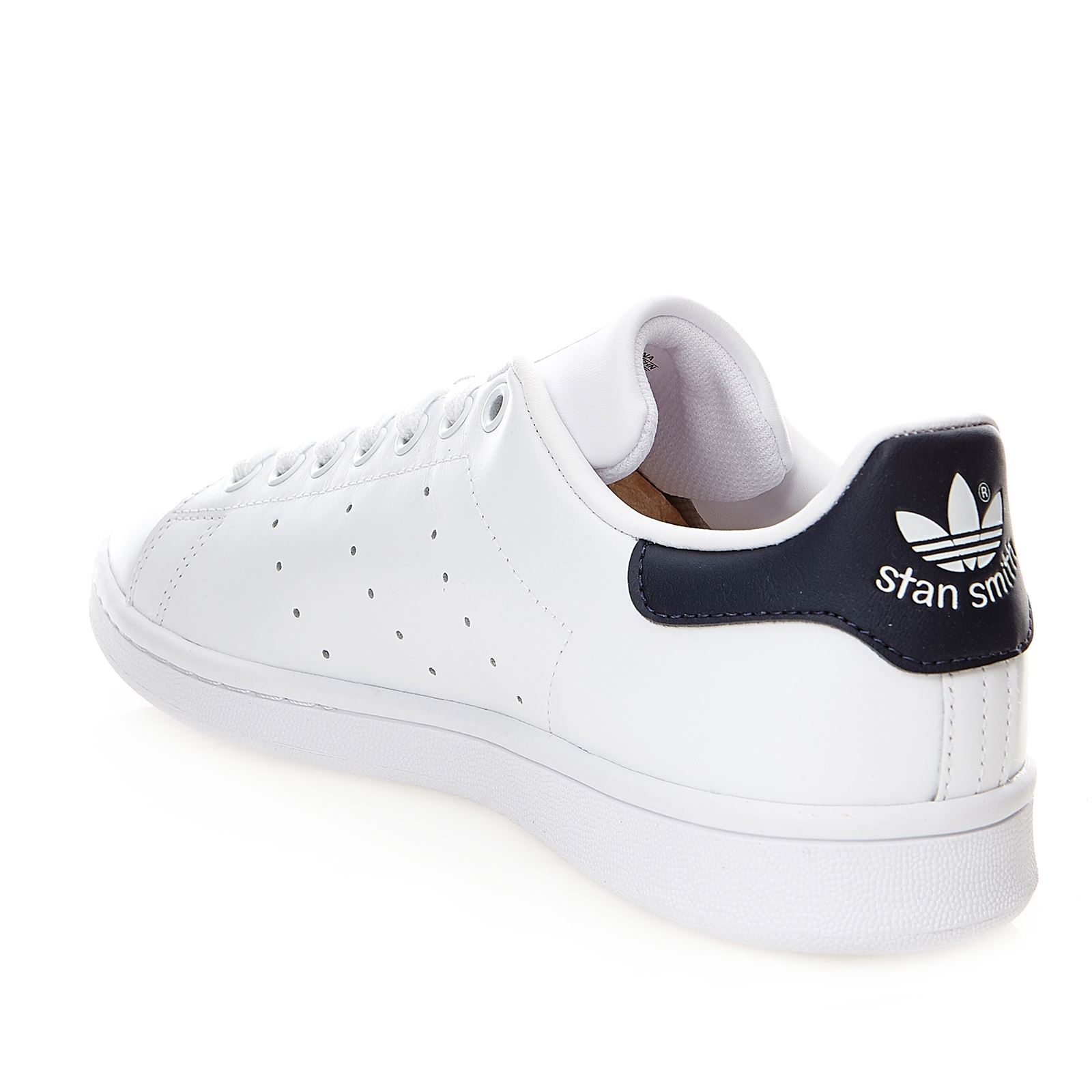 size 40 f2661 ef5d7 ADIDAS ORIGINALS Stan Smith - Baskets en cuir bi-matière - blanc
