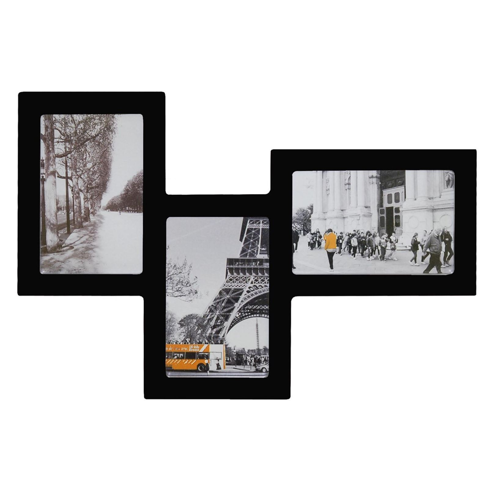 Incidence multi cadre p le m le 3 photos noir brandalley for Cadre contemporain