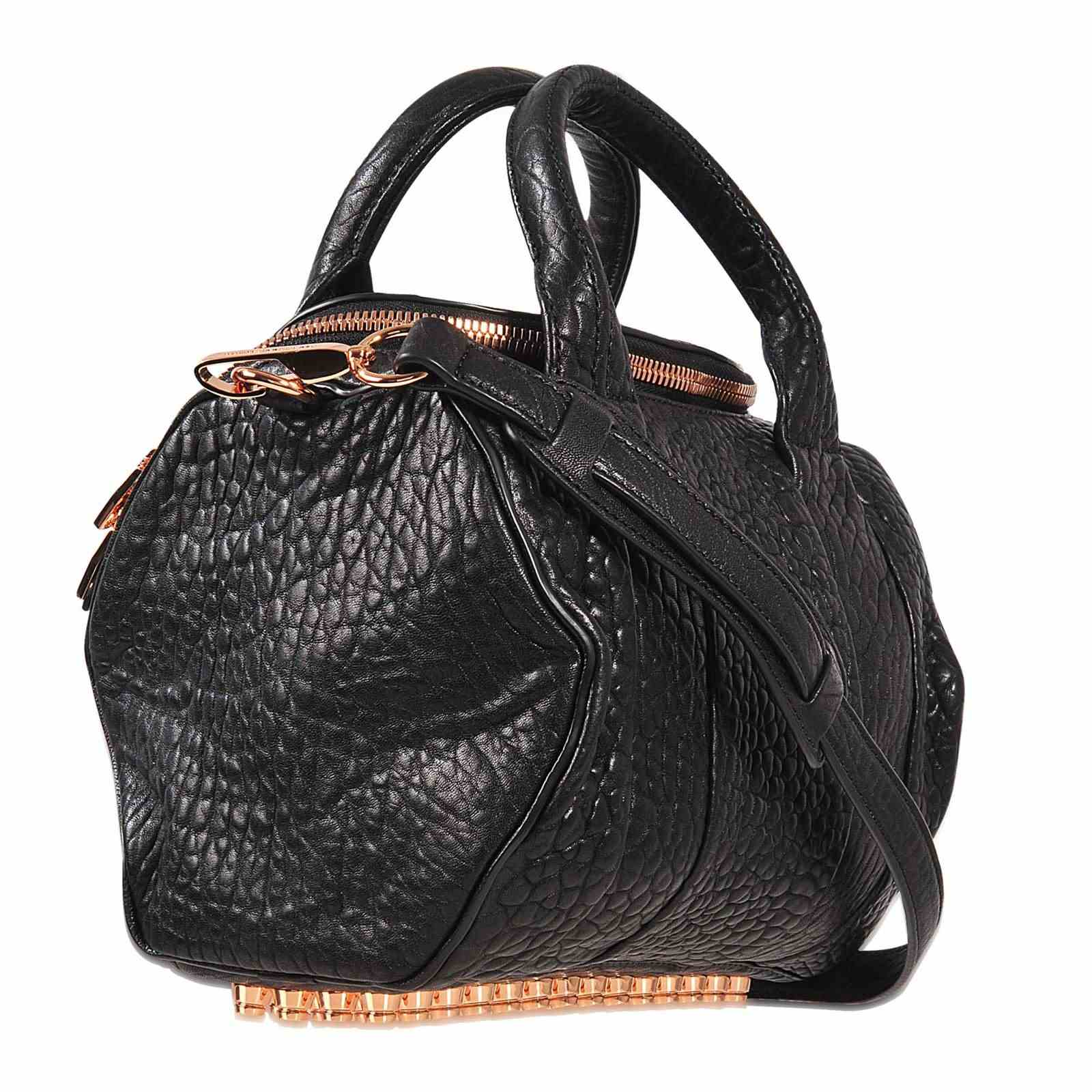 Alexander Wang Sac Mini Rockie Finitions Or Rose