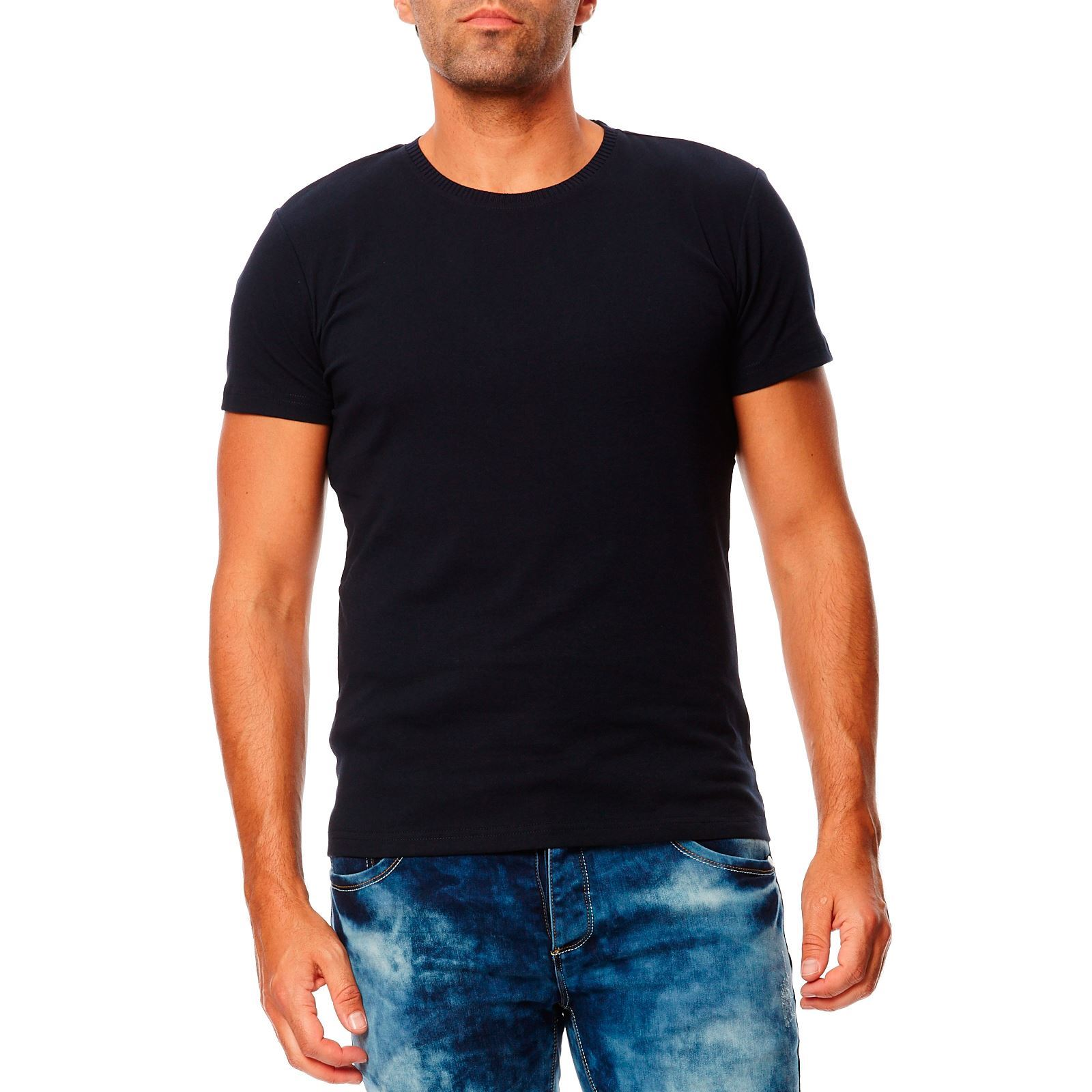 Maximum  T-shirt  Bleu Marine
