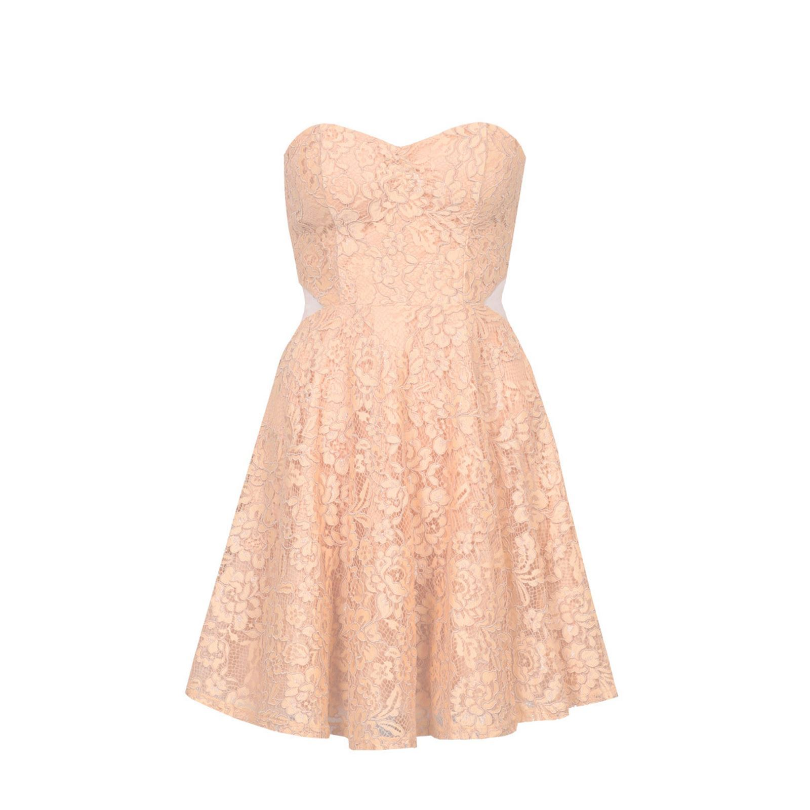 Robe rose tally weijl