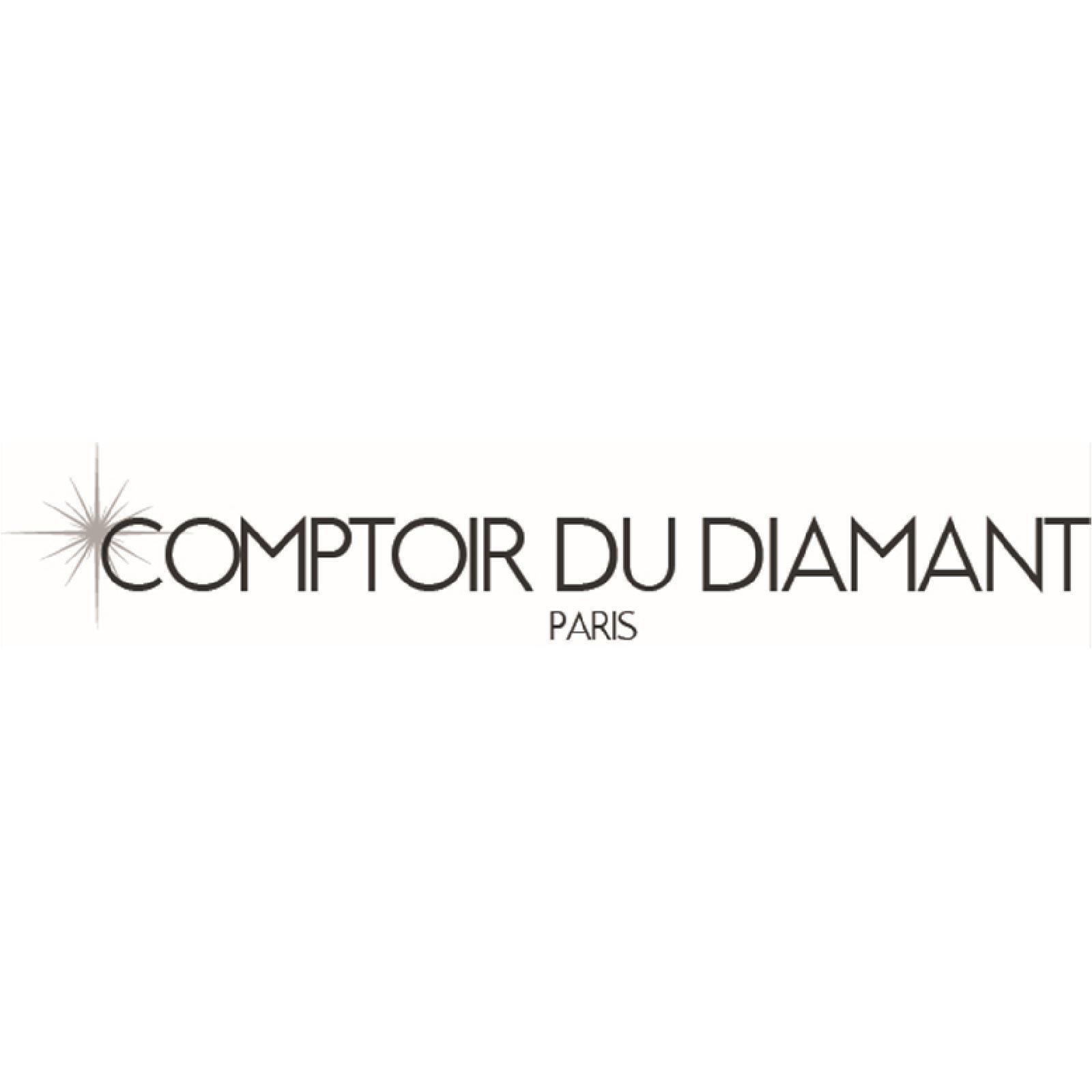 comptoir du diamant life boucles d 39 oreilles en or blanc avec diamants argent brandalley. Black Bedroom Furniture Sets. Home Design Ideas