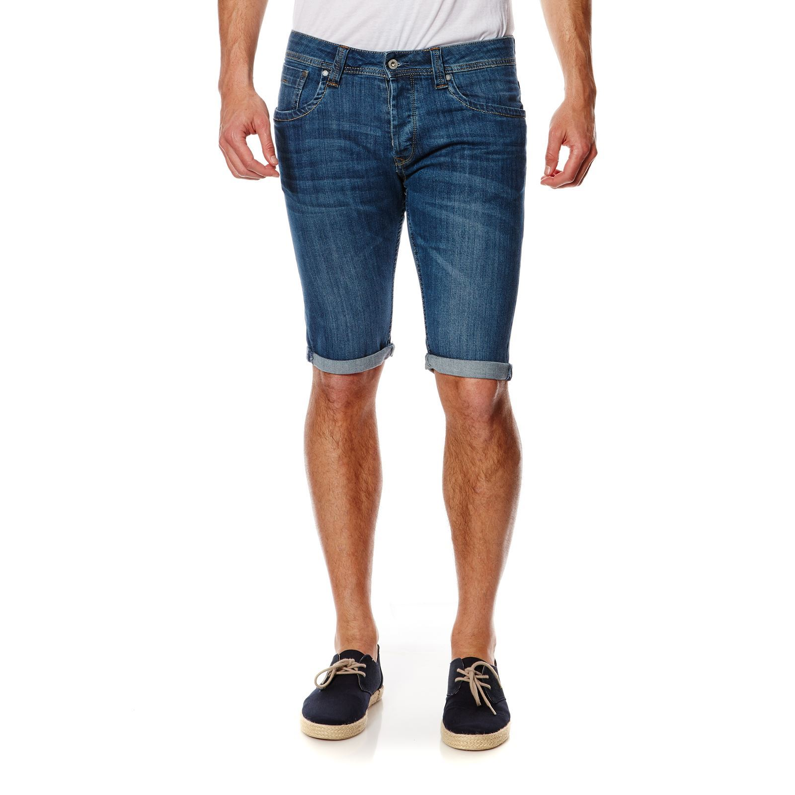 Pepe Jeans London Cash - Bermuda - denim bleu