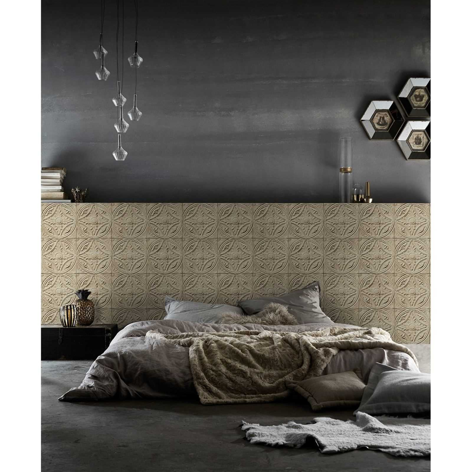 koziel papier peint beige brandalley. Black Bedroom Furniture Sets. Home Design Ideas