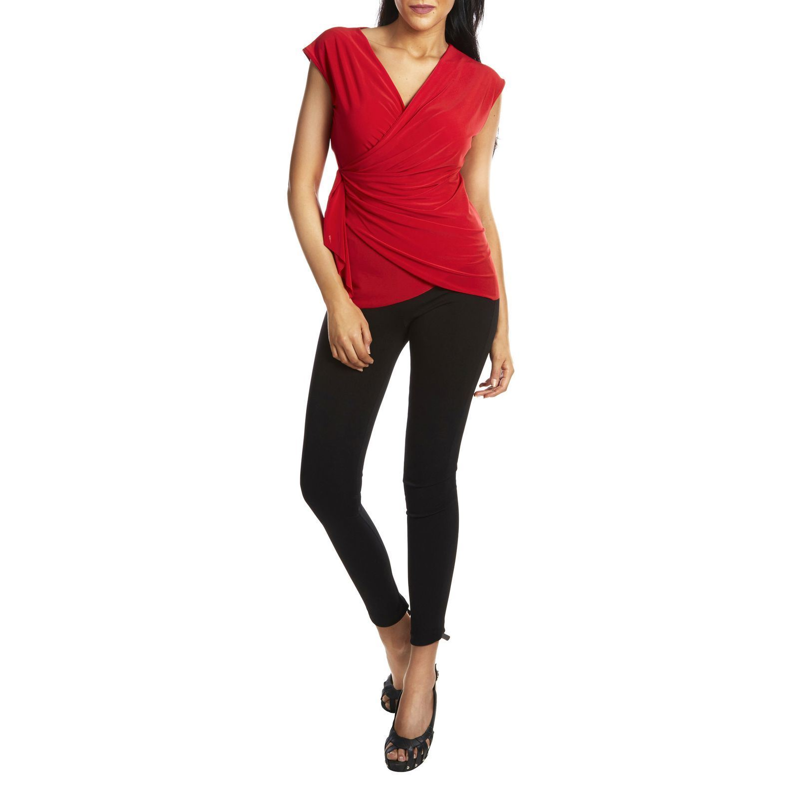 Alice et Charlotte Top - rouge   BrandAlley 288f6bbe5c55