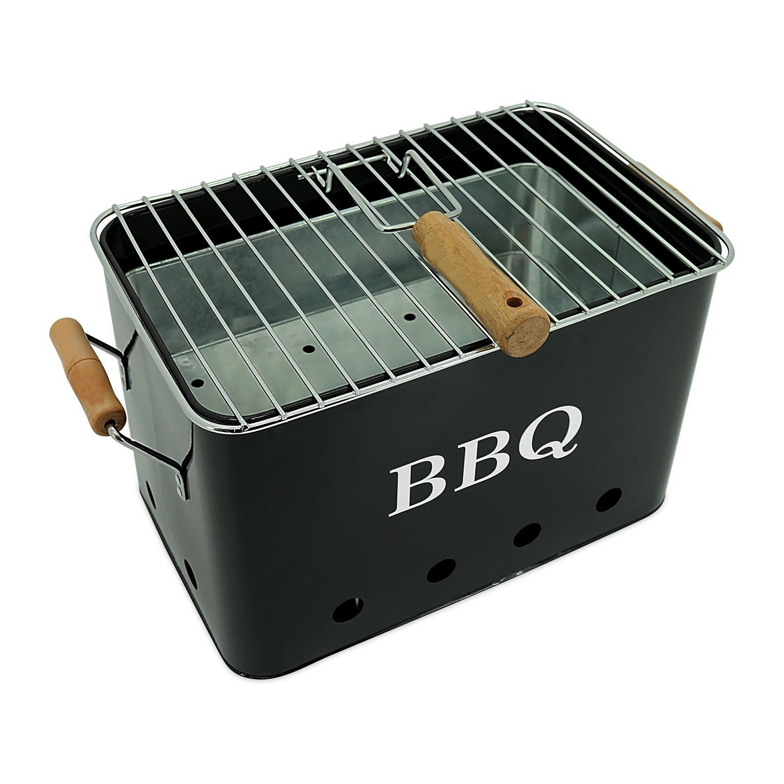Potiron bbq mini barbacoa negro brandalley for Barbacoa bbq