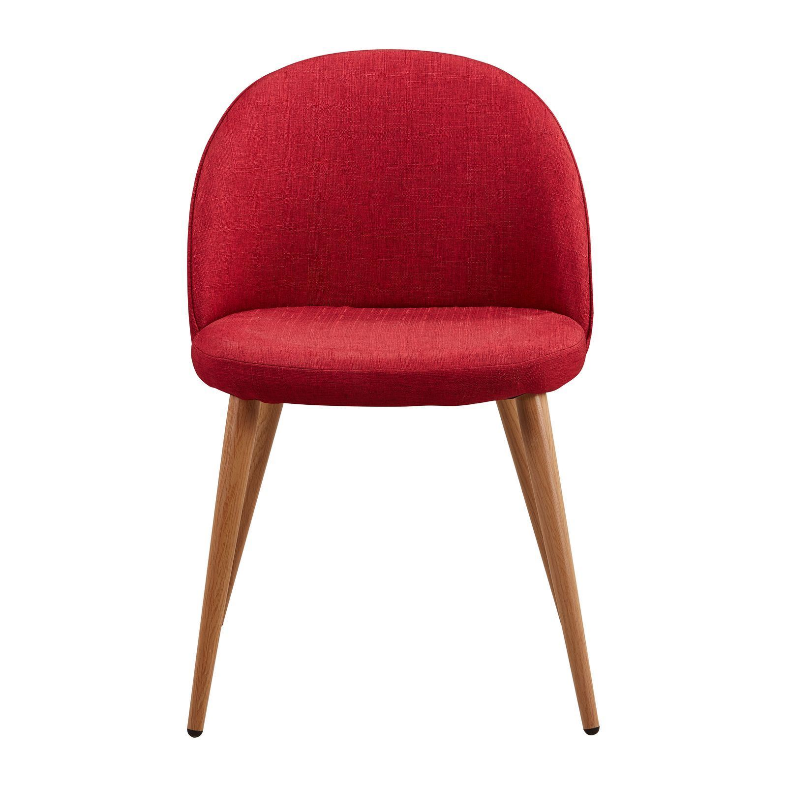 Potiron nolita chaise rouge brandalley for Chaise rouge