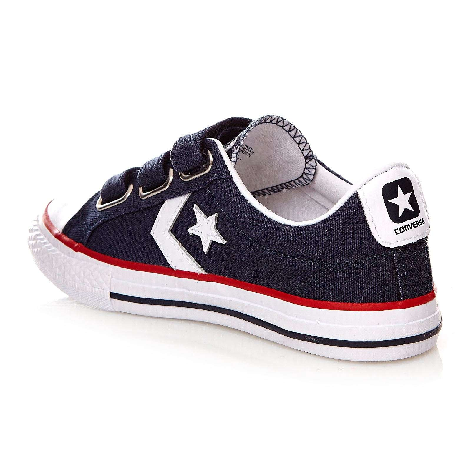 converse star player 3v ox baskets mode bleu marine brandalley. Black Bedroom Furniture Sets. Home Design Ideas