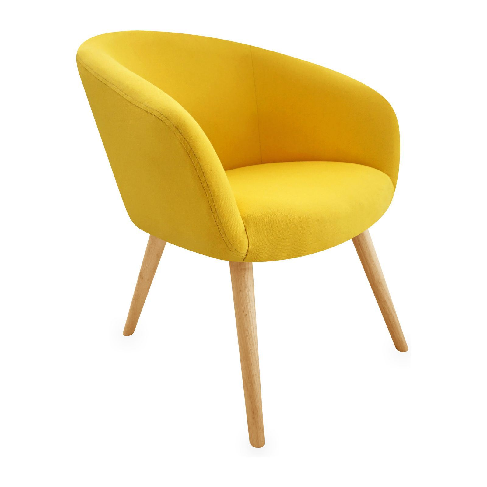 Fauteuil moutarde ikea vintage tela and vintage armchair on pinterest strandmon wing chair - Fauteuil jaune ikea ...