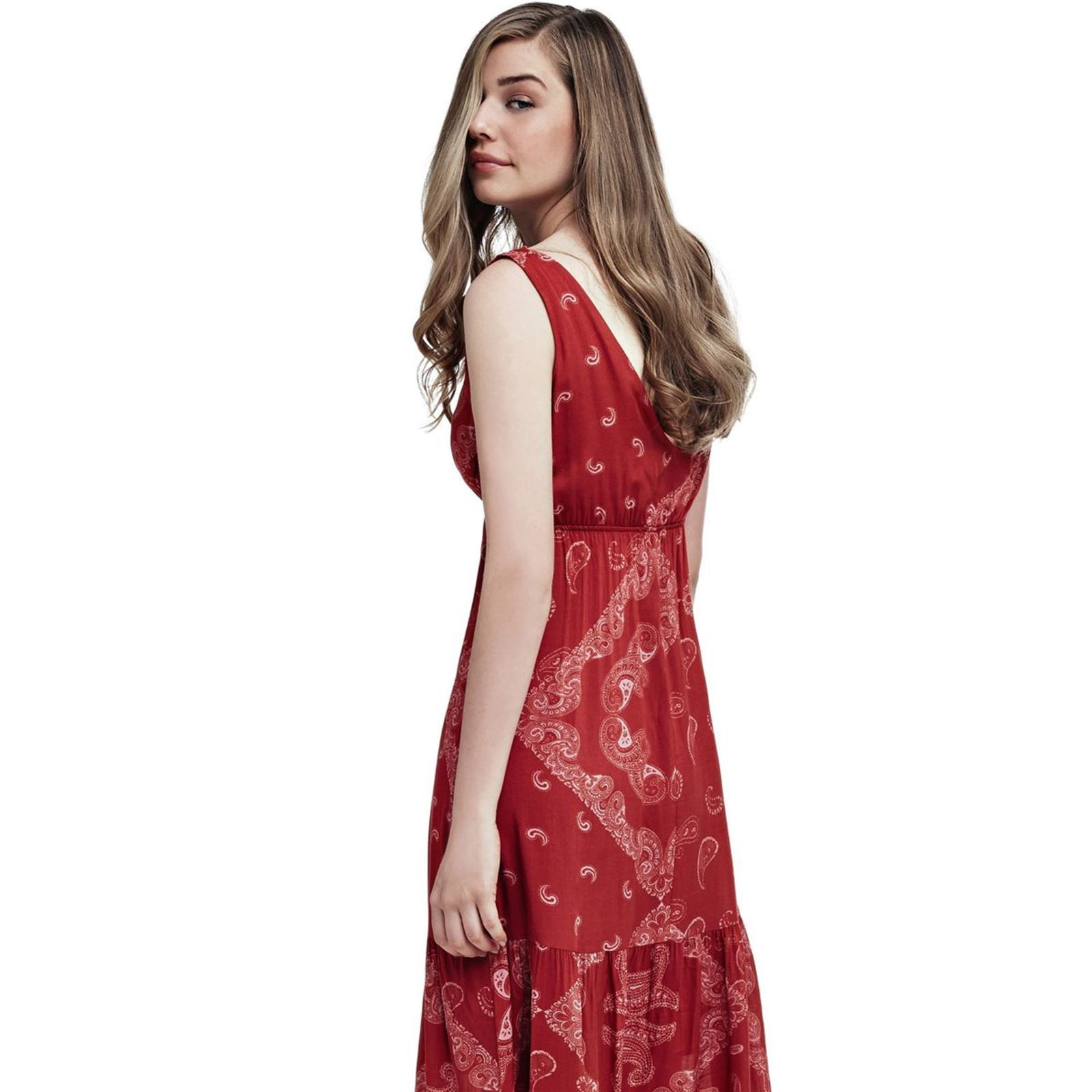 Guess Robe fluide - rouge   BrandAlley 6e5f0c41aaa9