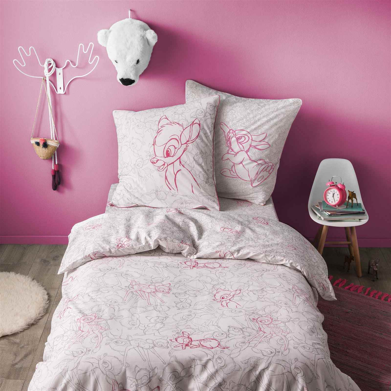 blanc cerise bambi cache cache drap housse blanc brandalley. Black Bedroom Furniture Sets. Home Design Ideas