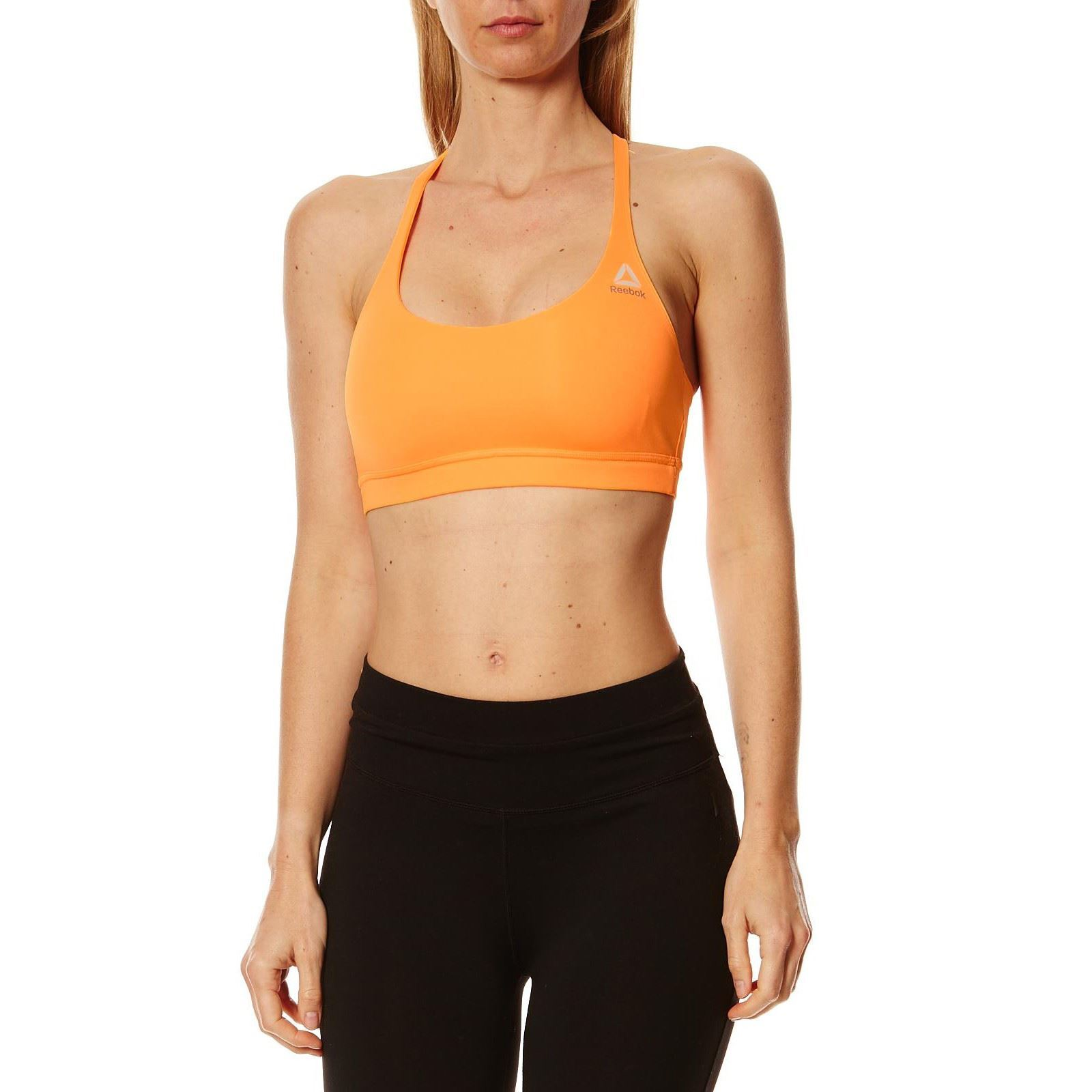 Reebok-Performance-Brassiere-de-sport-orange