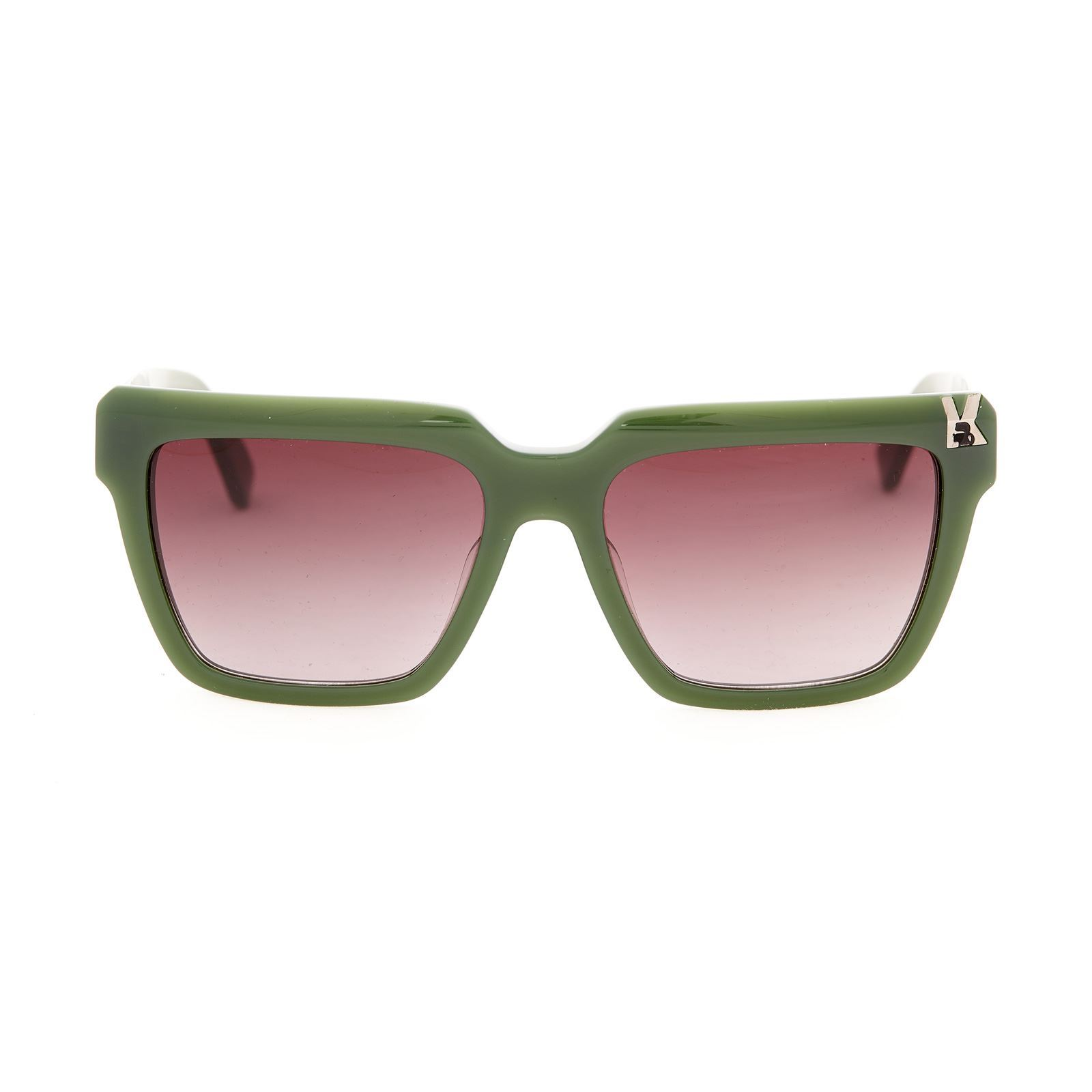 karl lagerfeld lunettes de soleil vert brandalley. Black Bedroom Furniture Sets. Home Design Ideas