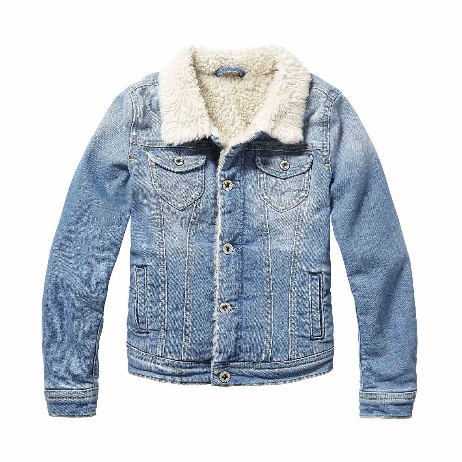 Pepe Jeans London New Berry - Veste en jean - denim bleu