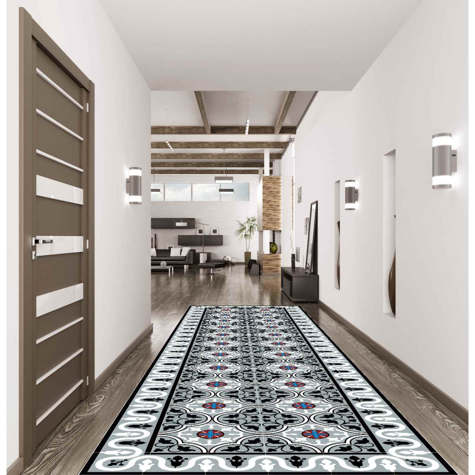 floorart mil tapis de couloir imprim brandalley. Black Bedroom Furniture Sets. Home Design Ideas