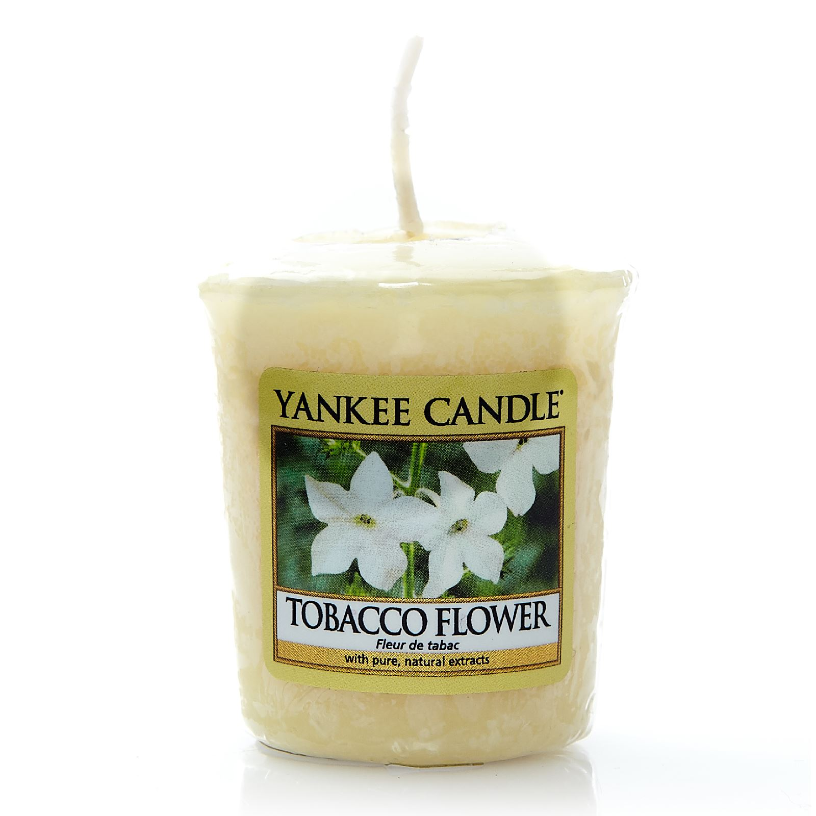 yankee candle fleur de tabac bougie parfum e jaune. Black Bedroom Furniture Sets. Home Design Ideas