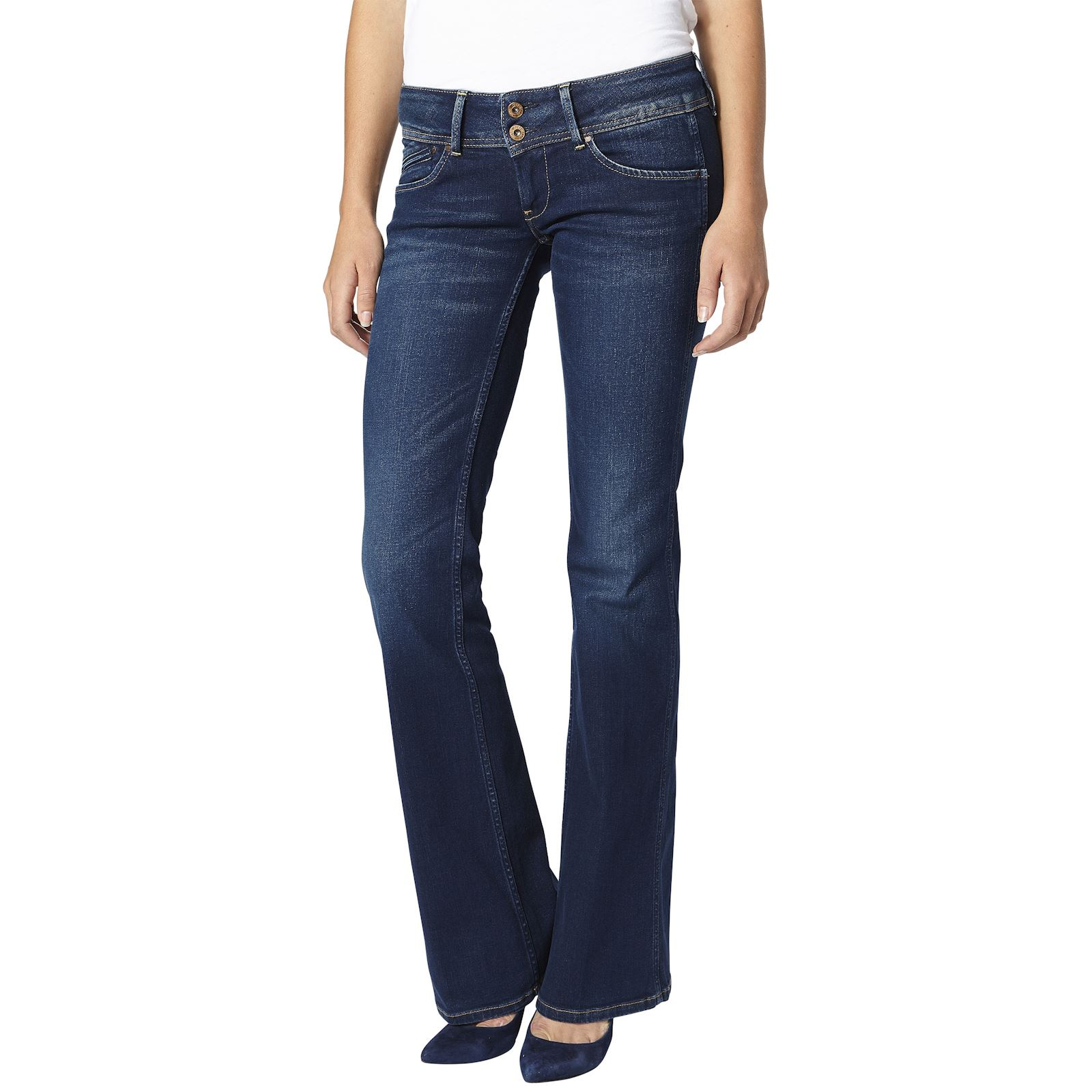 Pepe Jeans London Pimlico - Jean flare - denim bleu