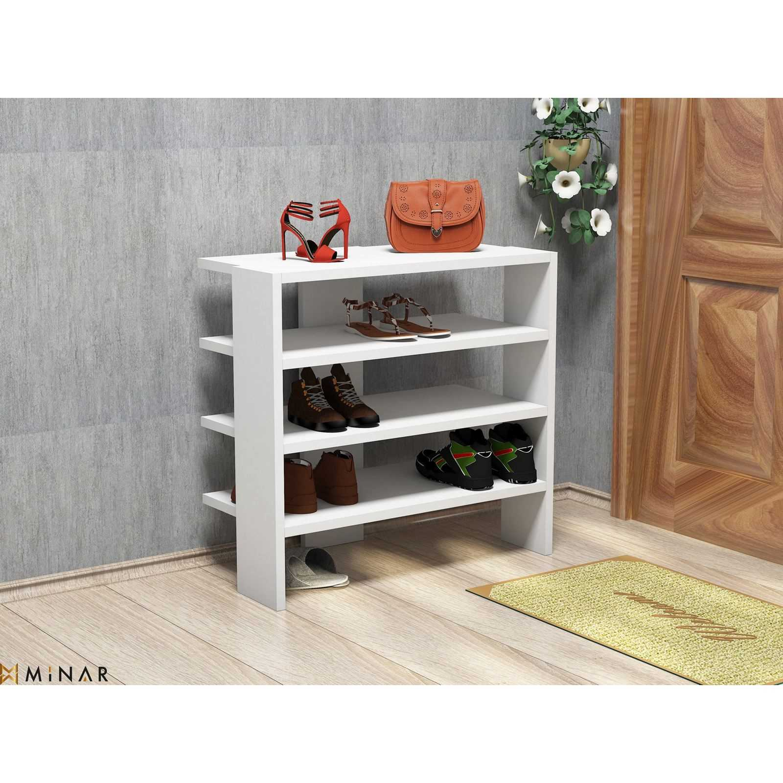 B&W Decor Mueble para zapatos - blanco | Brandalley