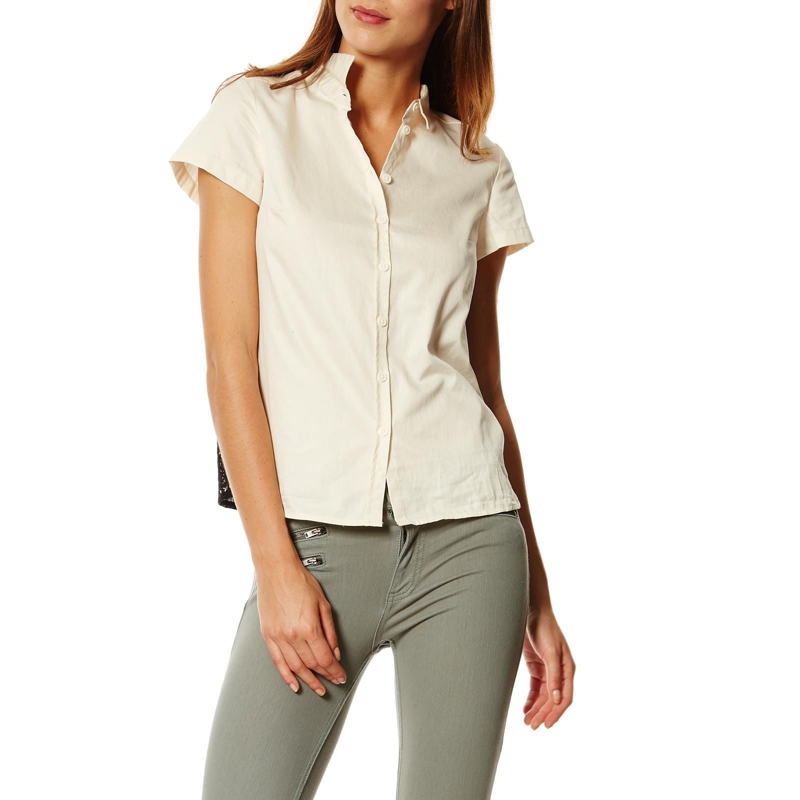 French Connection Chemise - ecru   BrandAlley af1a6945338a