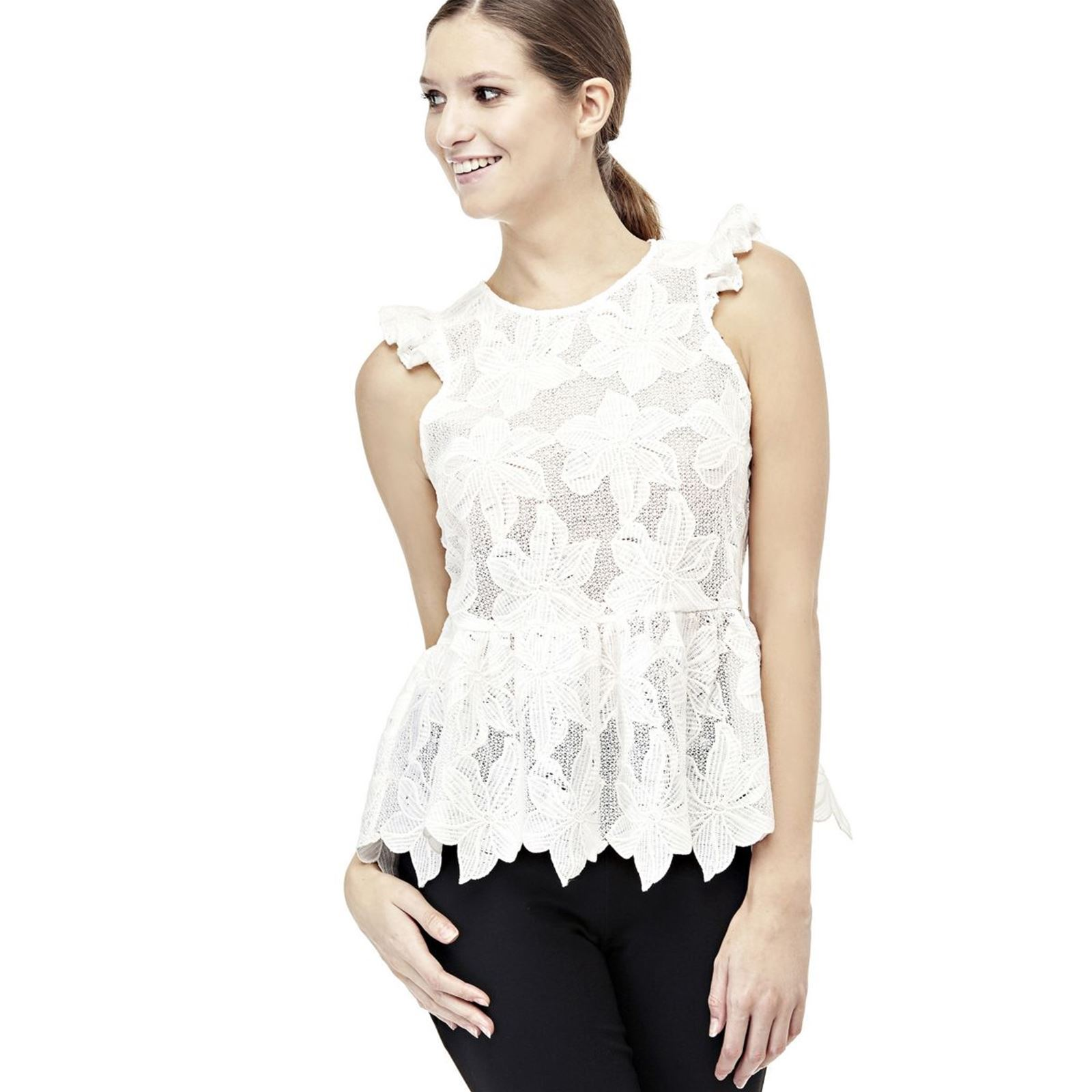 Guess Top - blanc
