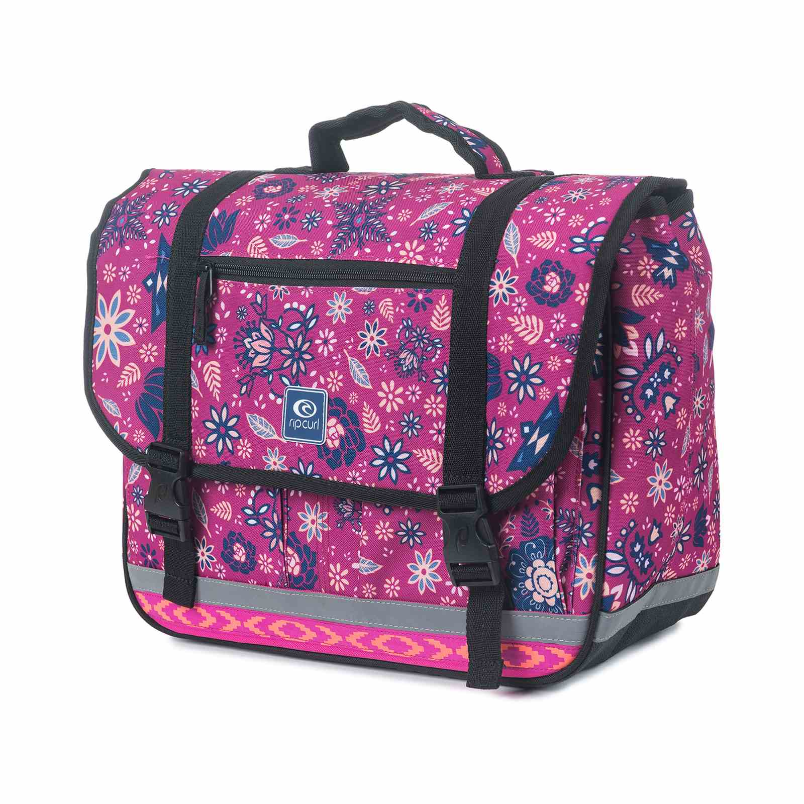 rip curl satchel cartable sacoche rose brandalley. Black Bedroom Furniture Sets. Home Design Ideas